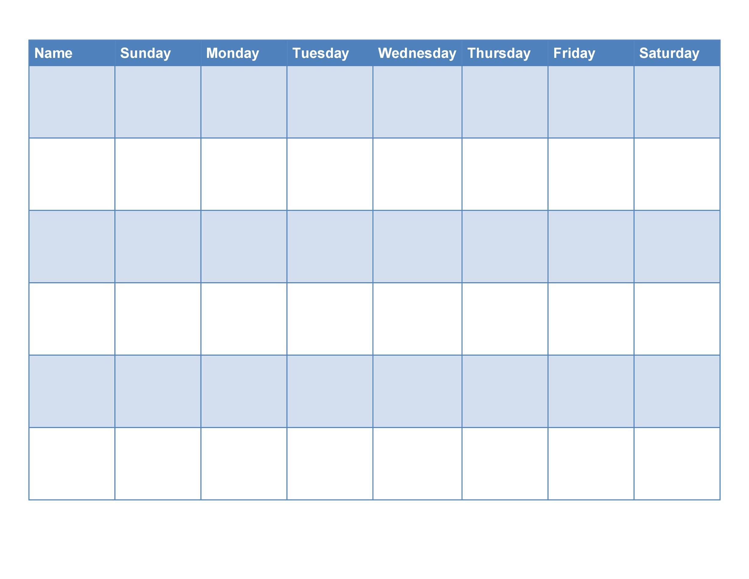 Free chore chart template 32