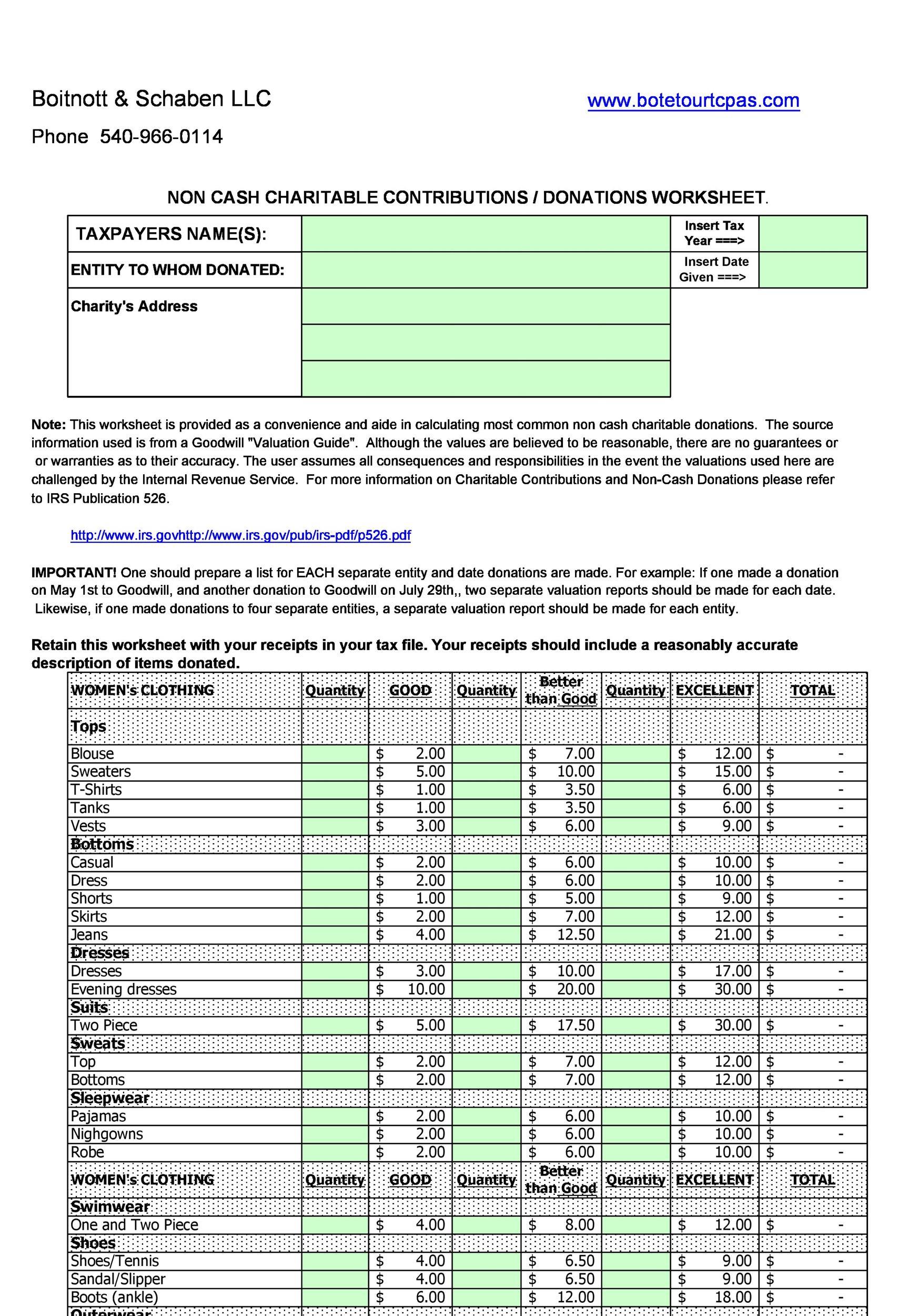 Free donation tracker 19