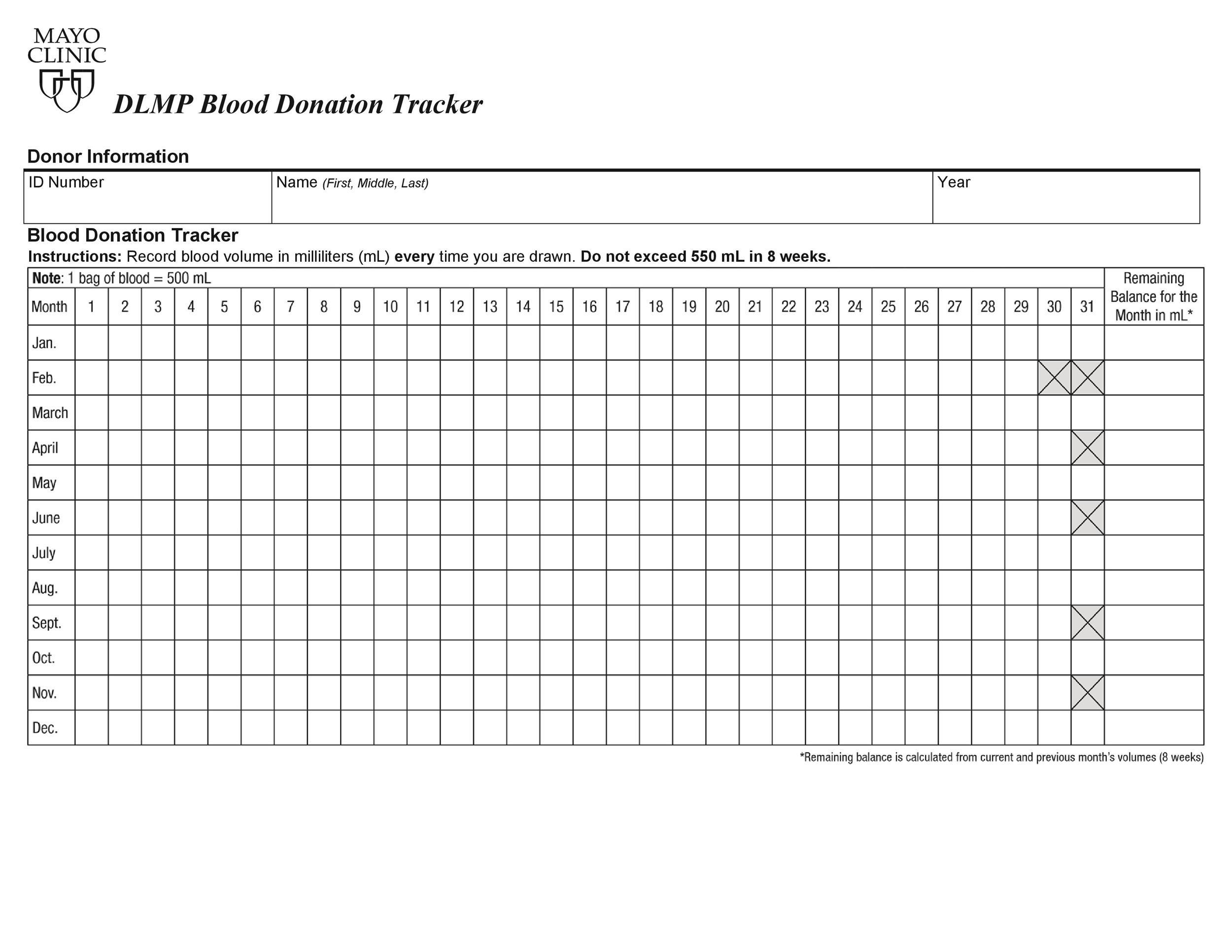 Free donation tracker 31