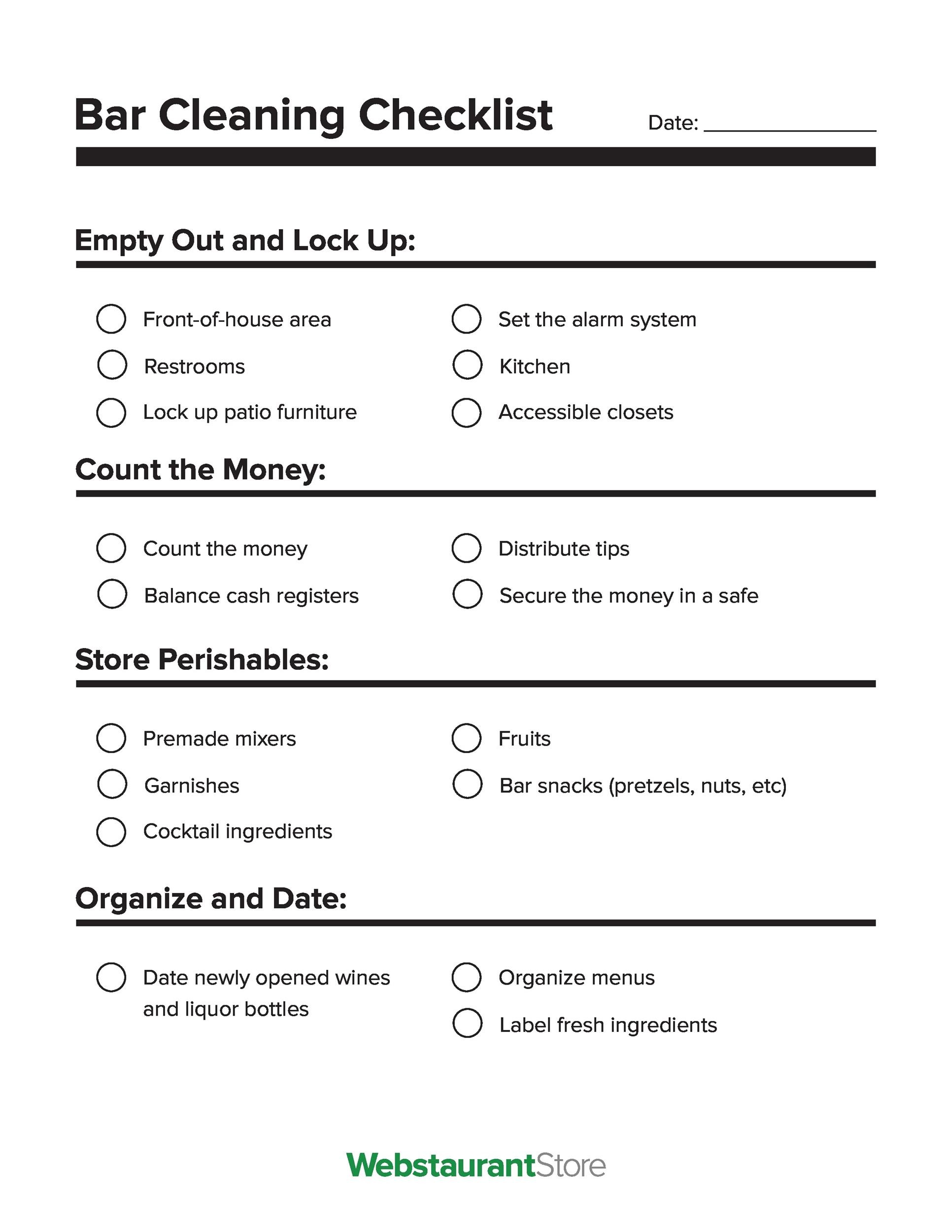 Free house cleaning checklist 40