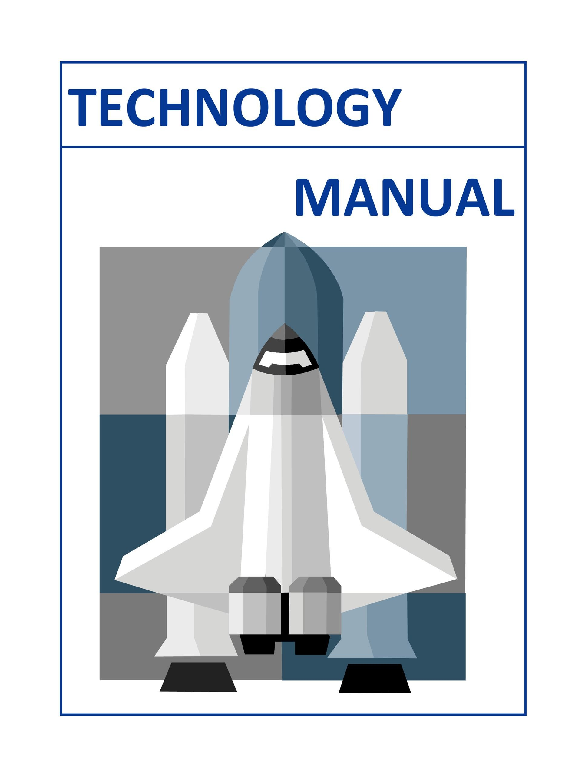 Free instruction manual template 09