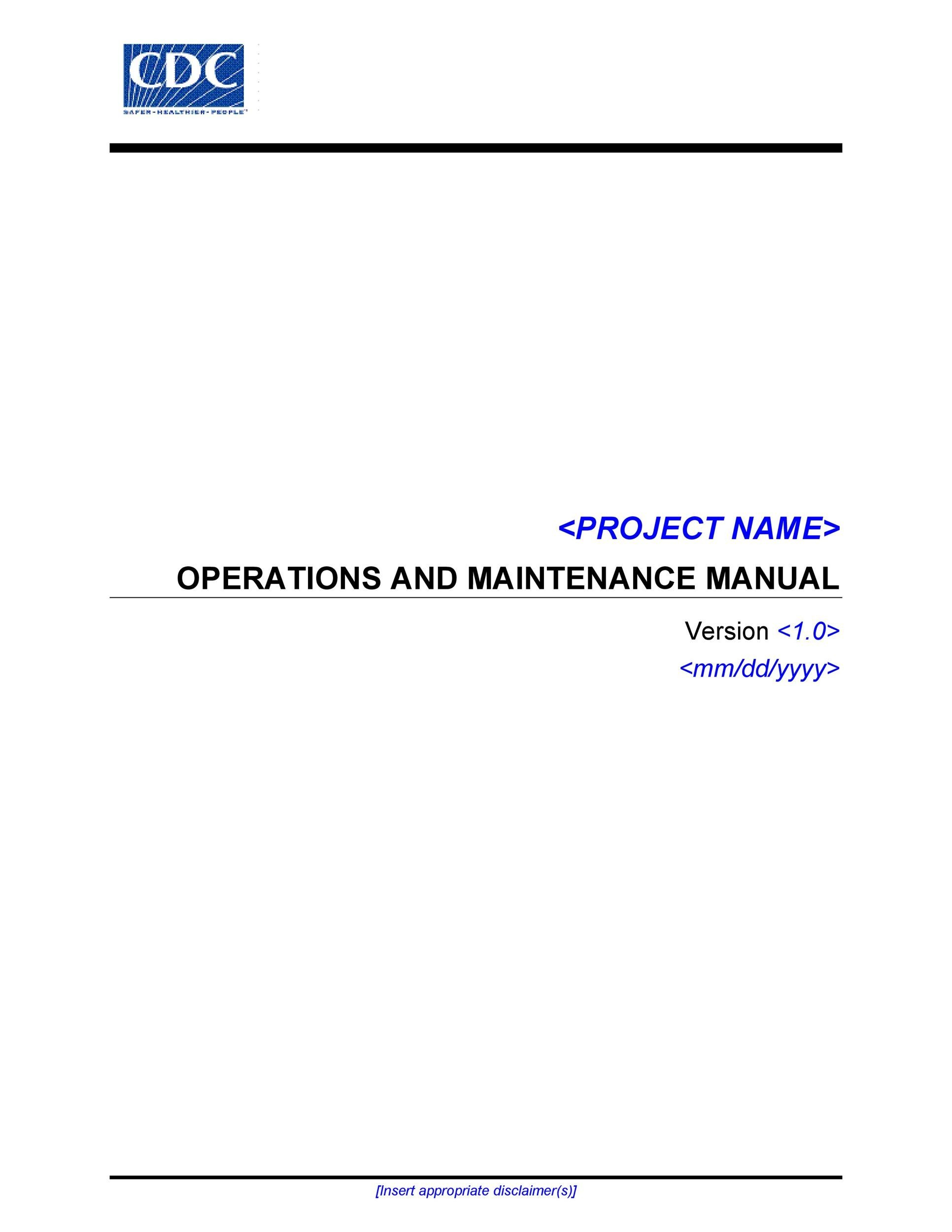 Free instruction manual template 21