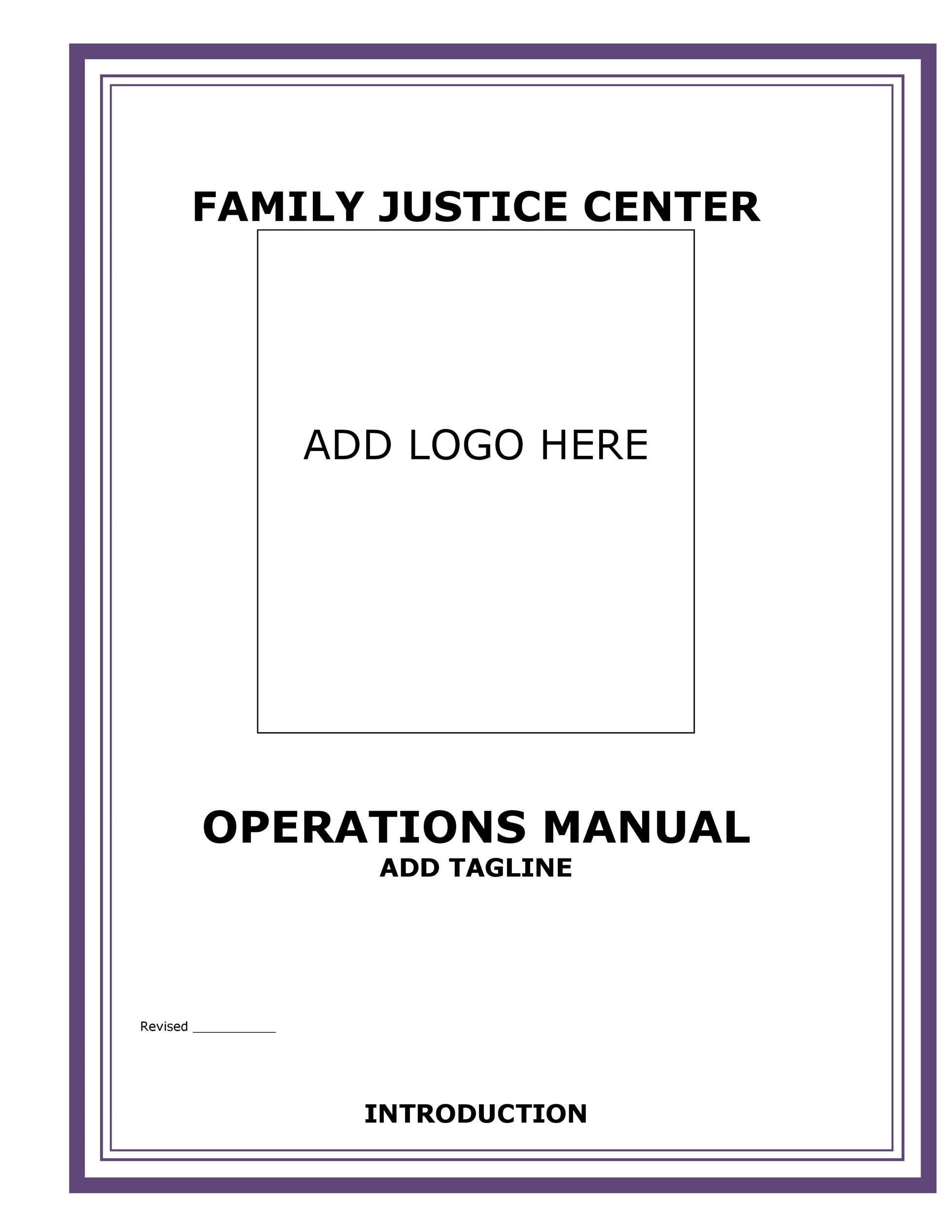 Free instruction manual template 31