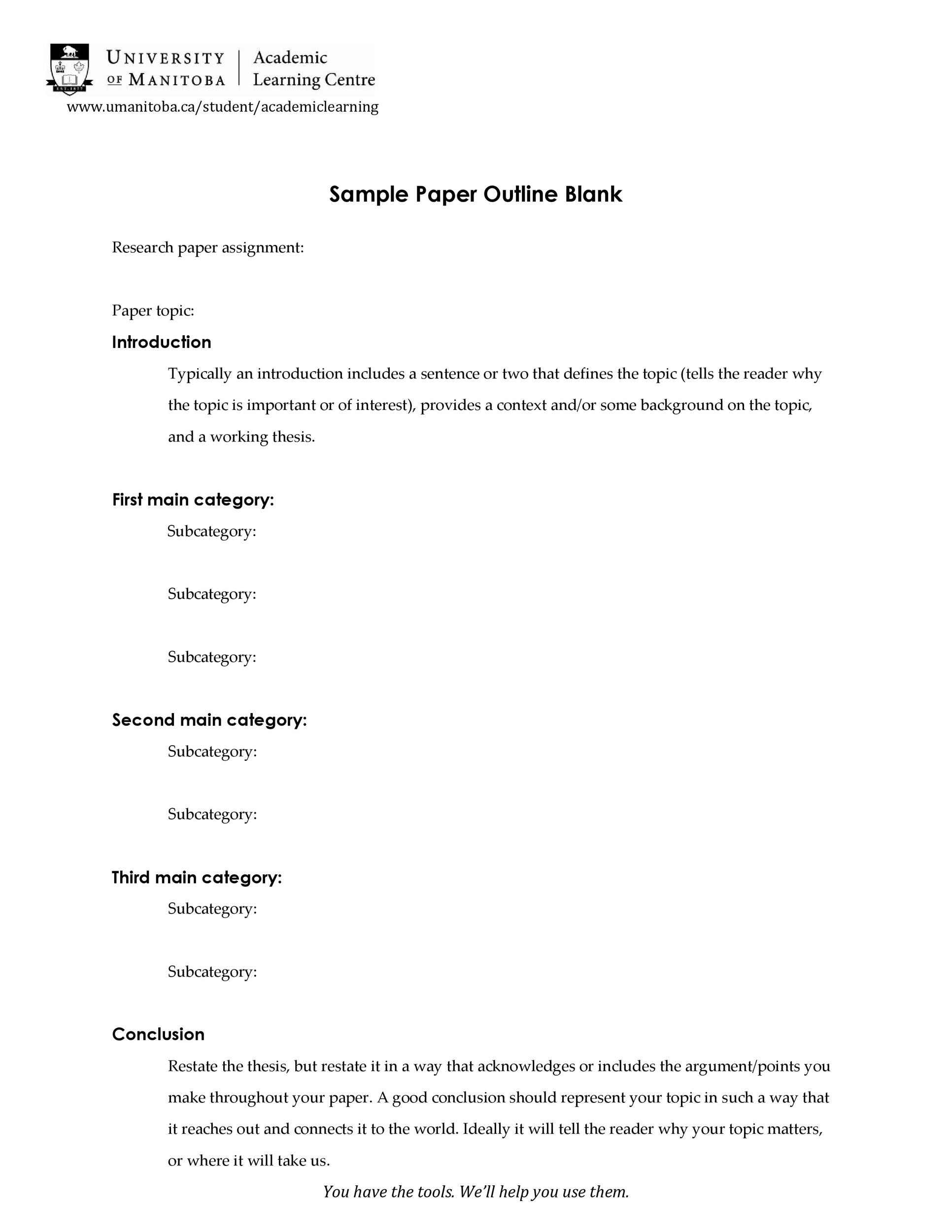 Free mla format template 24