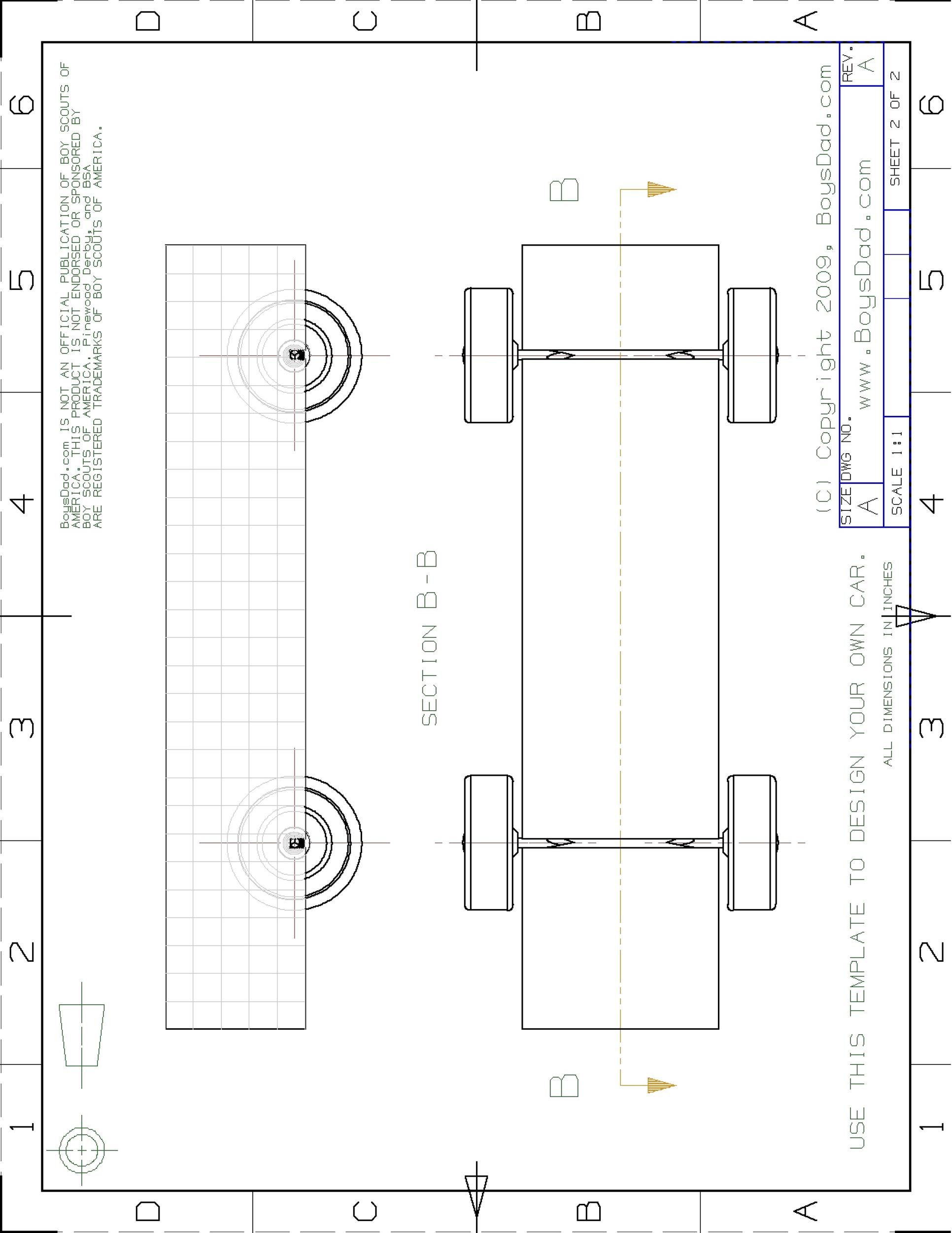 Free pinewood derby templates 03