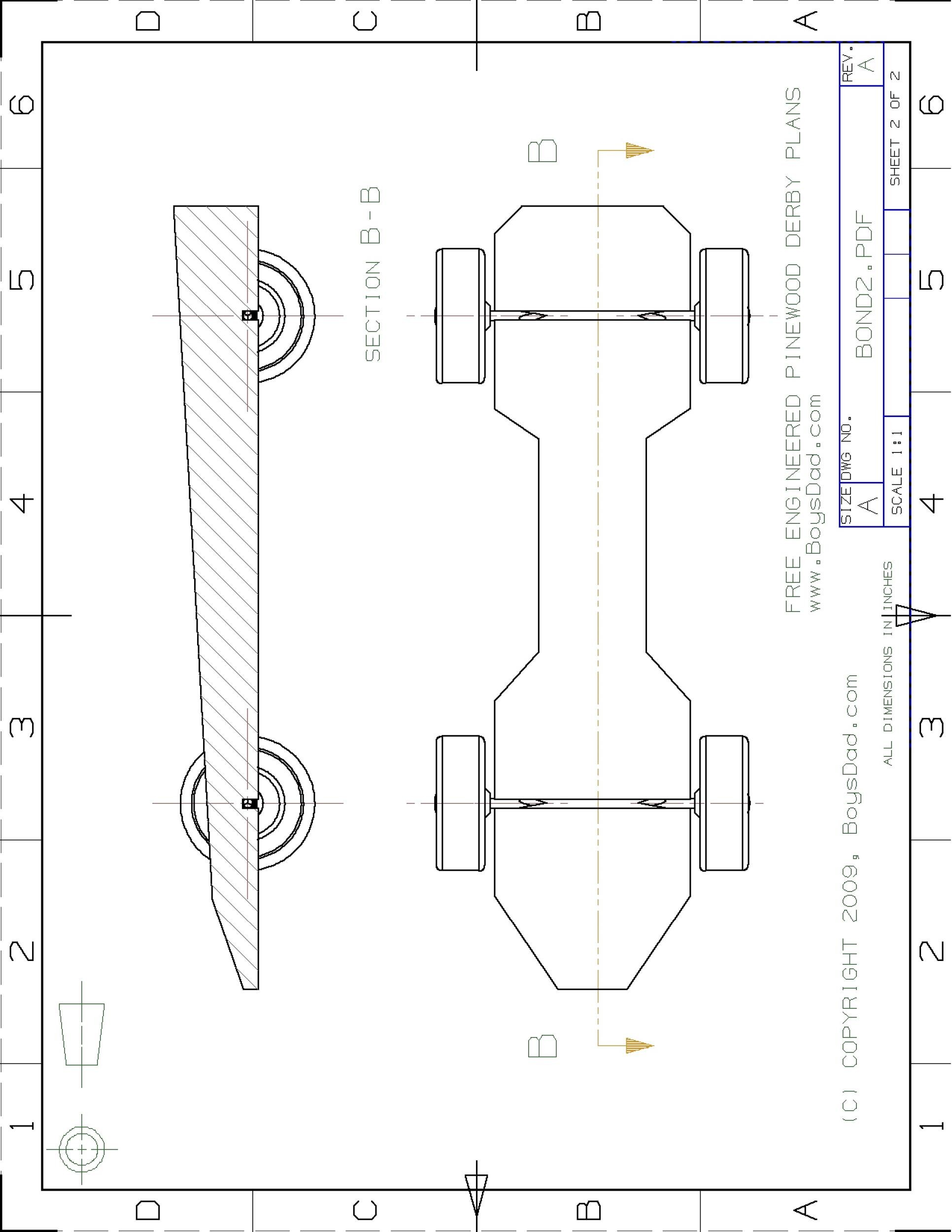 Free pinewood derby templates 04