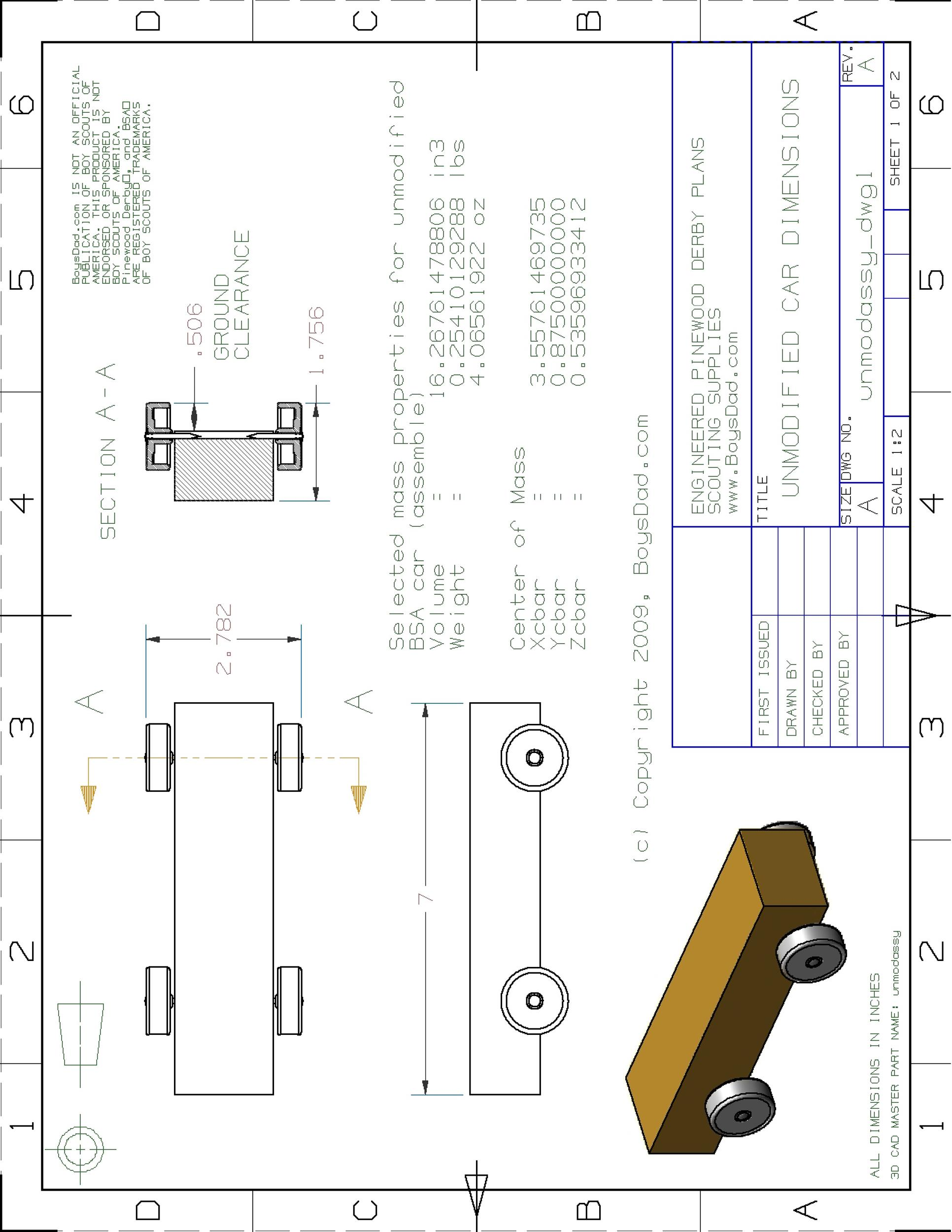 Free pinewood derby templates 06