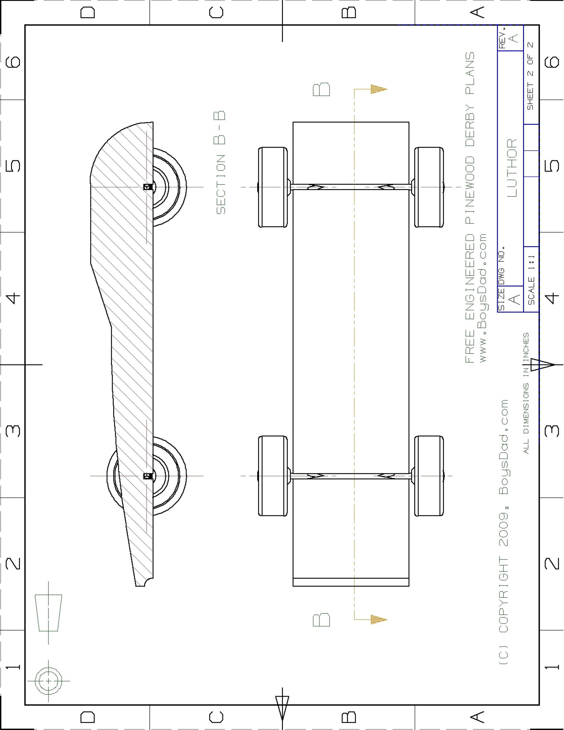 Free pinewood derby templates 13