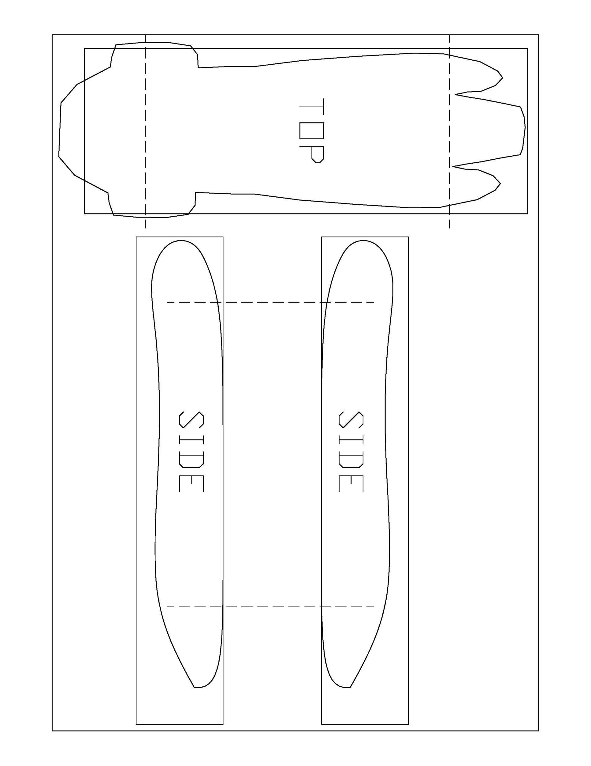 Free pinewood derby templates 17