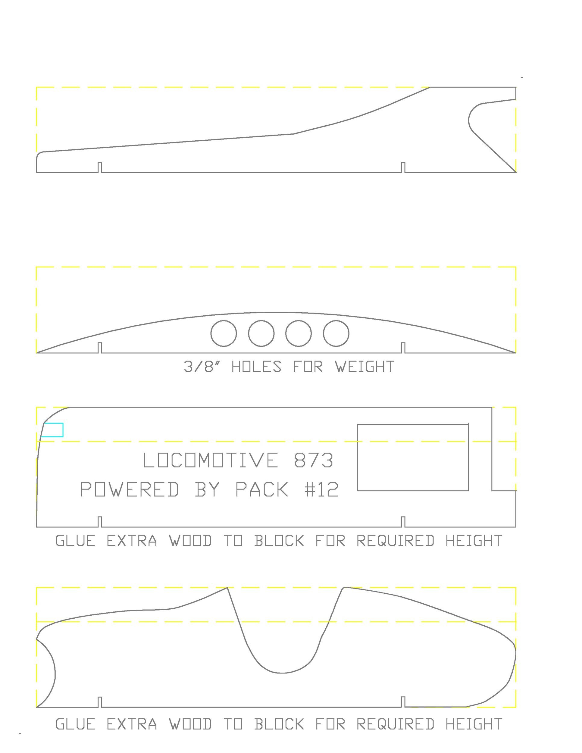 Free pinewood derby templates 18