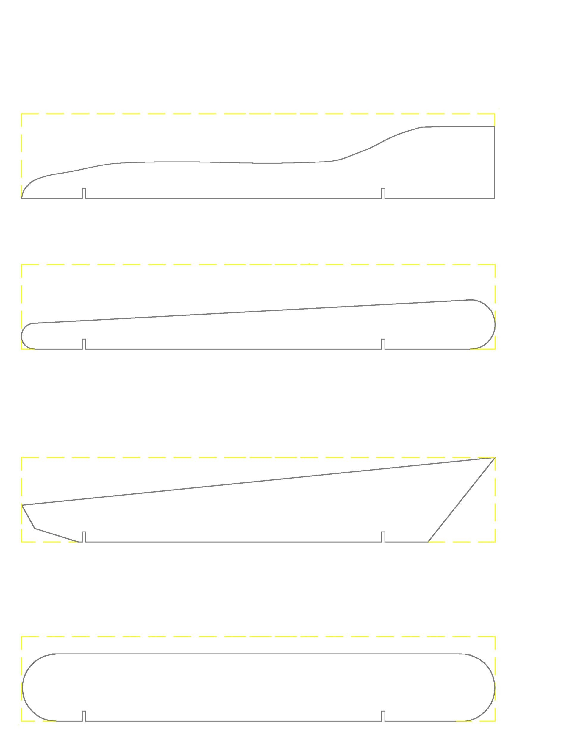 Free pinewood derby templates 20