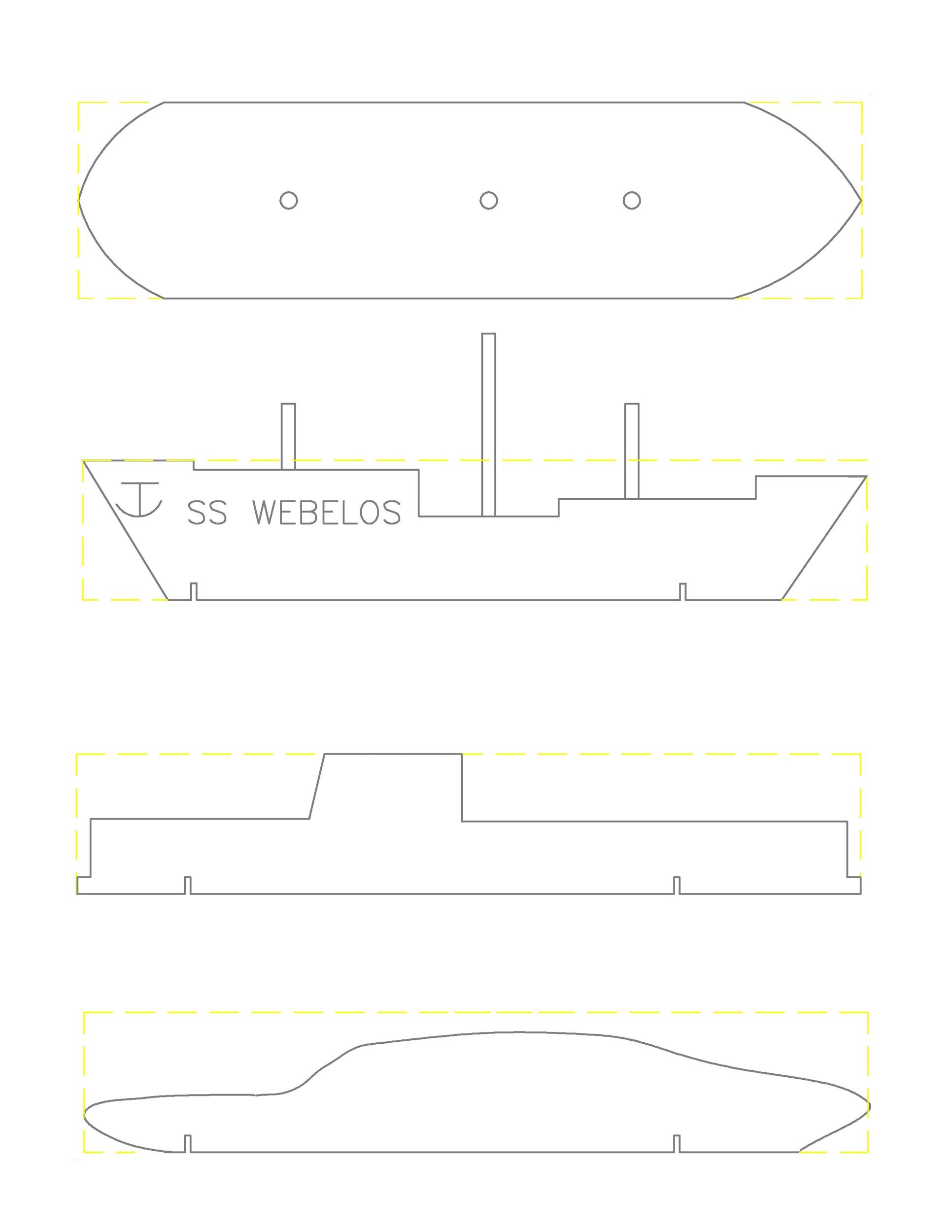 Free pinewood derby templates 24
