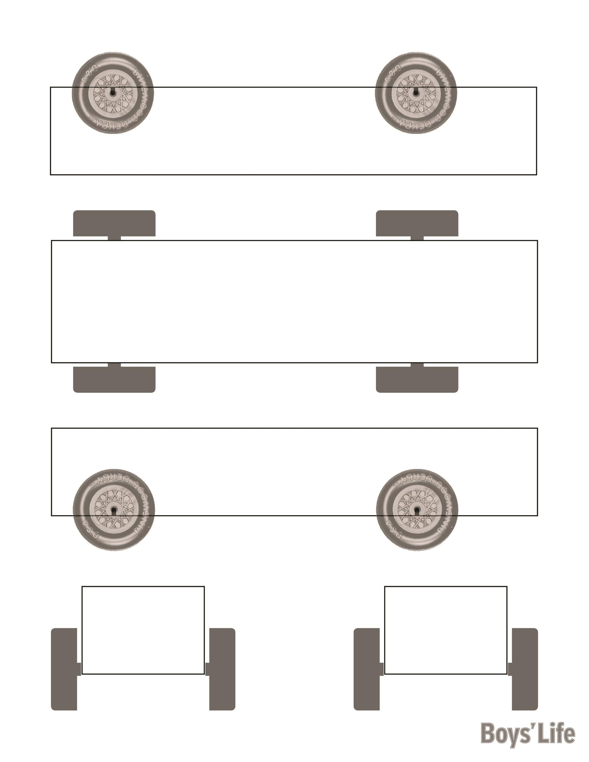 Free pinewood derby templates 26