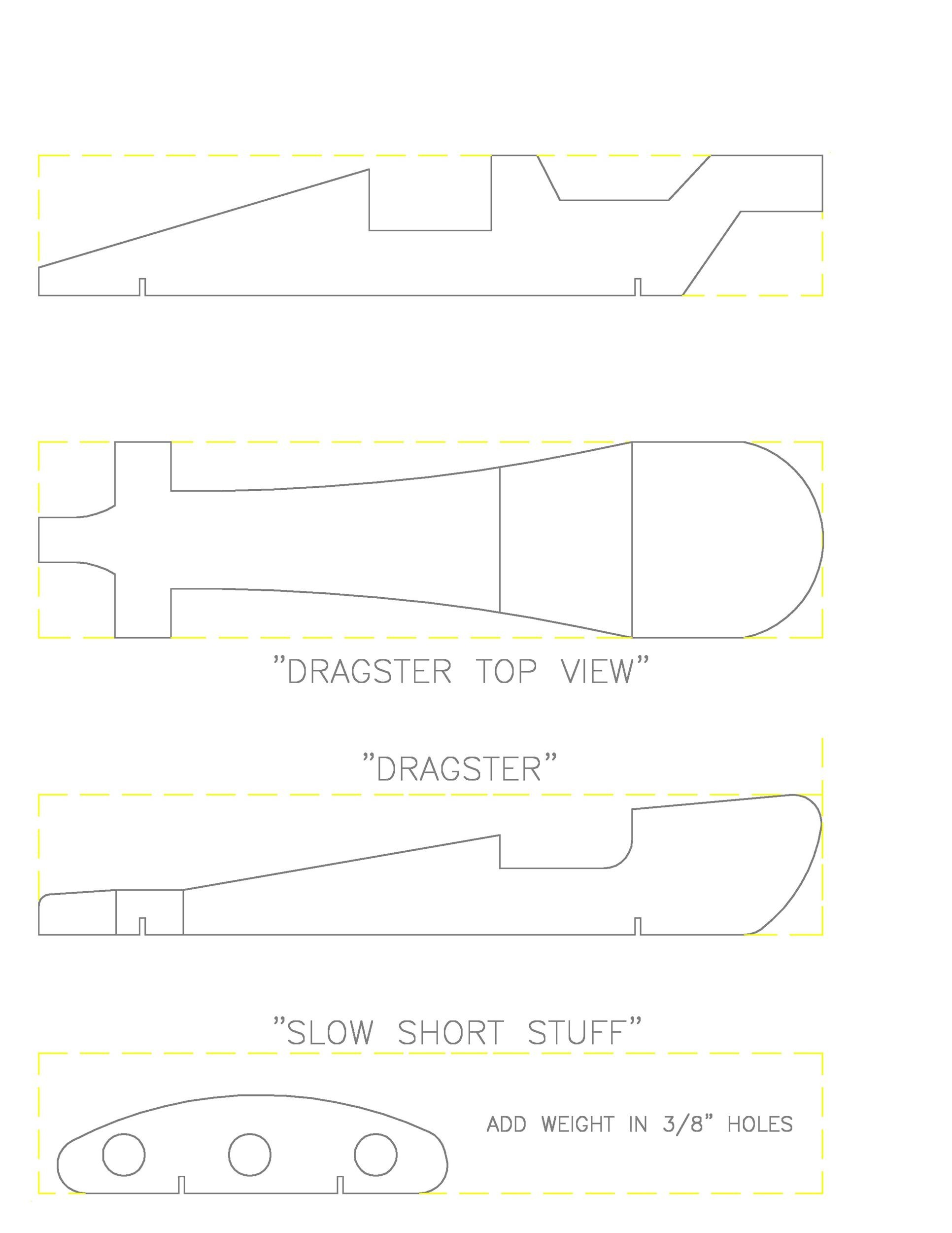 Free pinewood derby templates 27