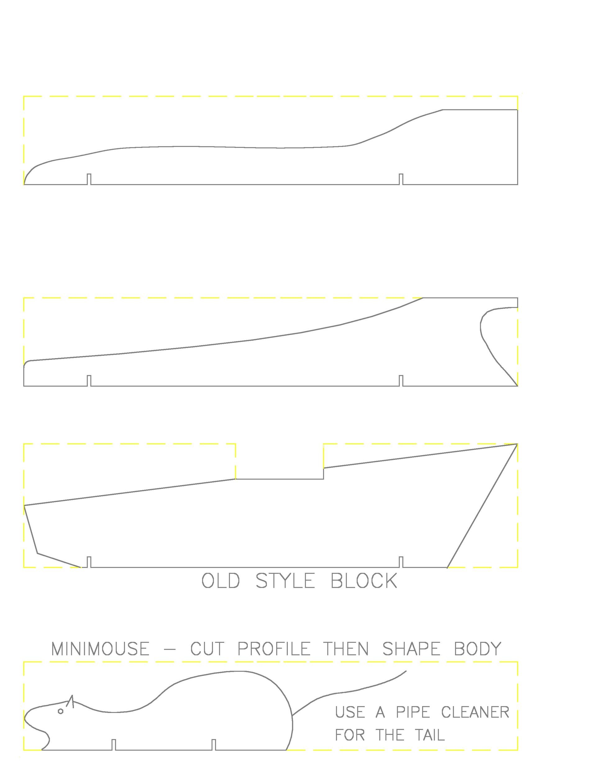 Free pinewood derby templates 28