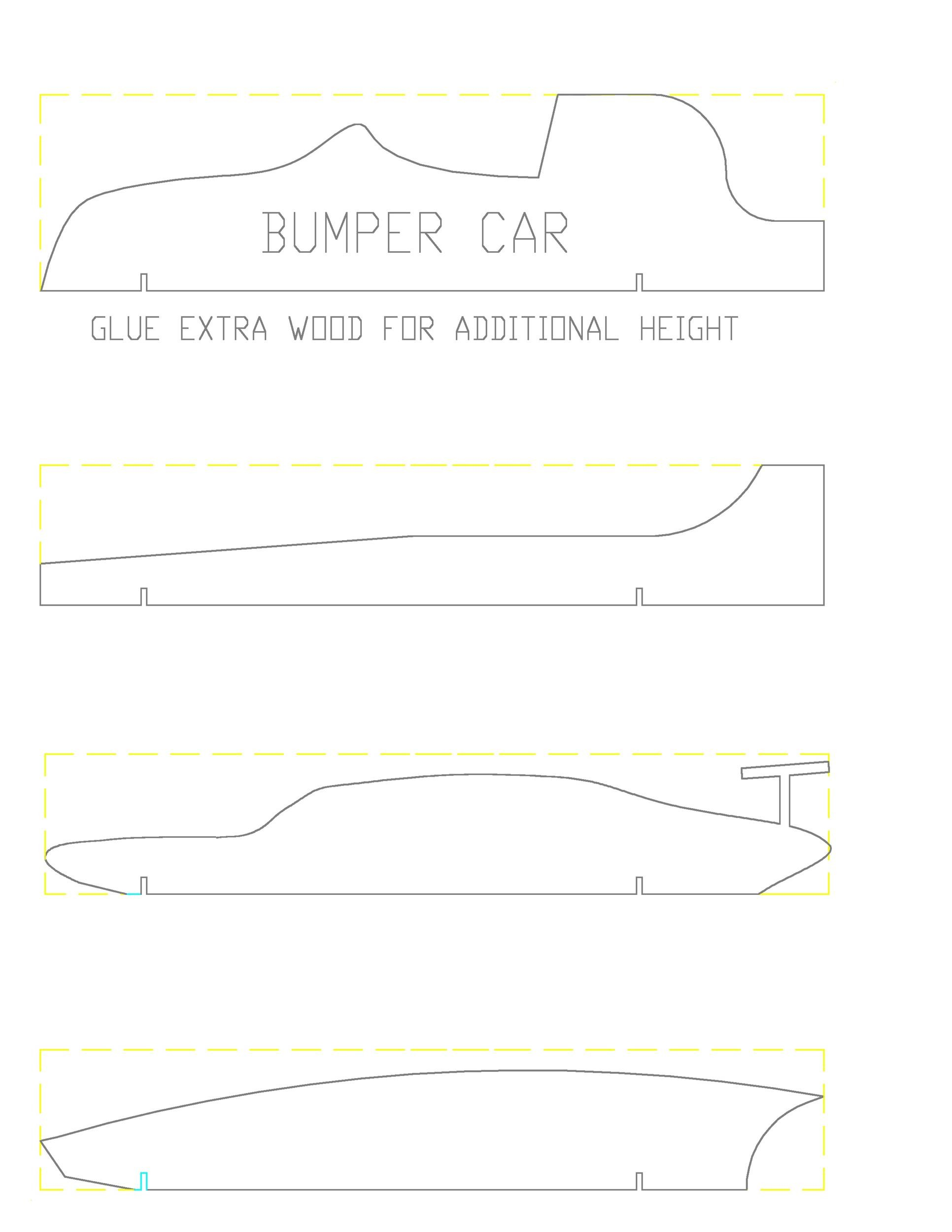 Free pinewood derby templates 30