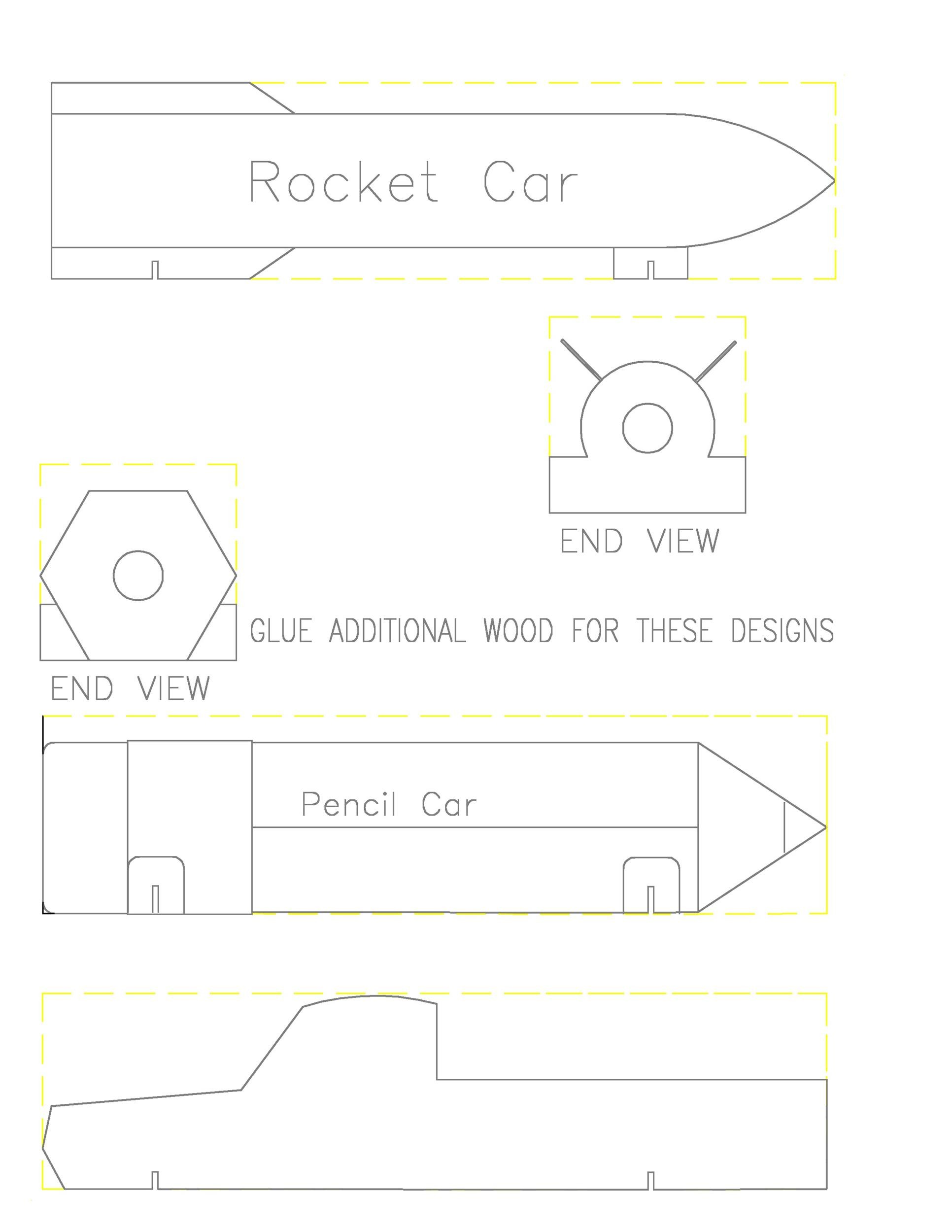 Free pinewood derby templates 31