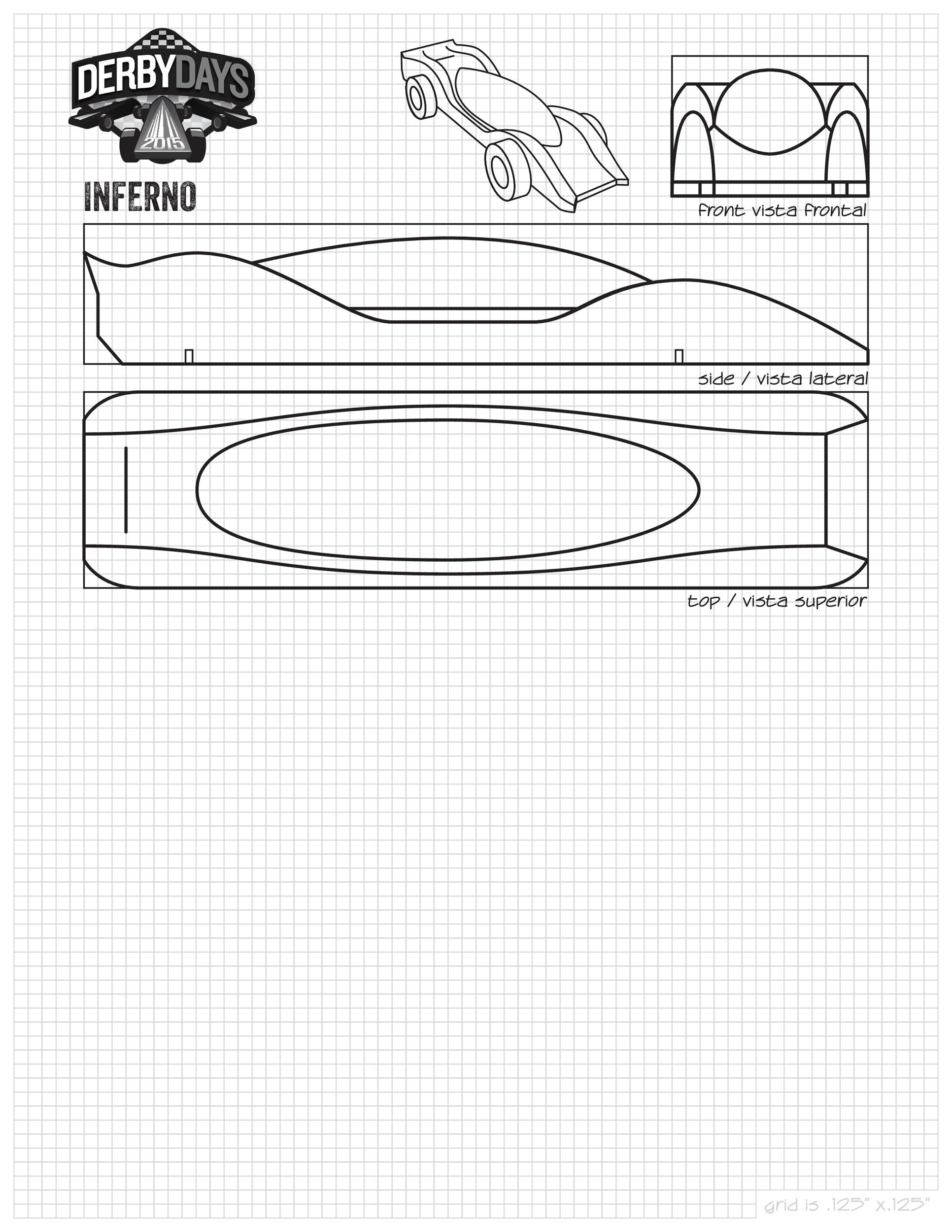 Free pinewood derby templates 33