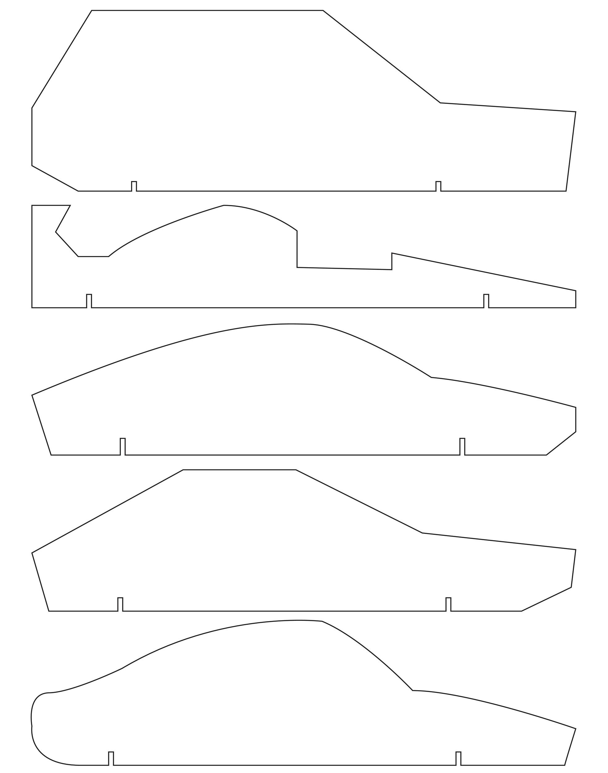 Free pinewood derby templates 37