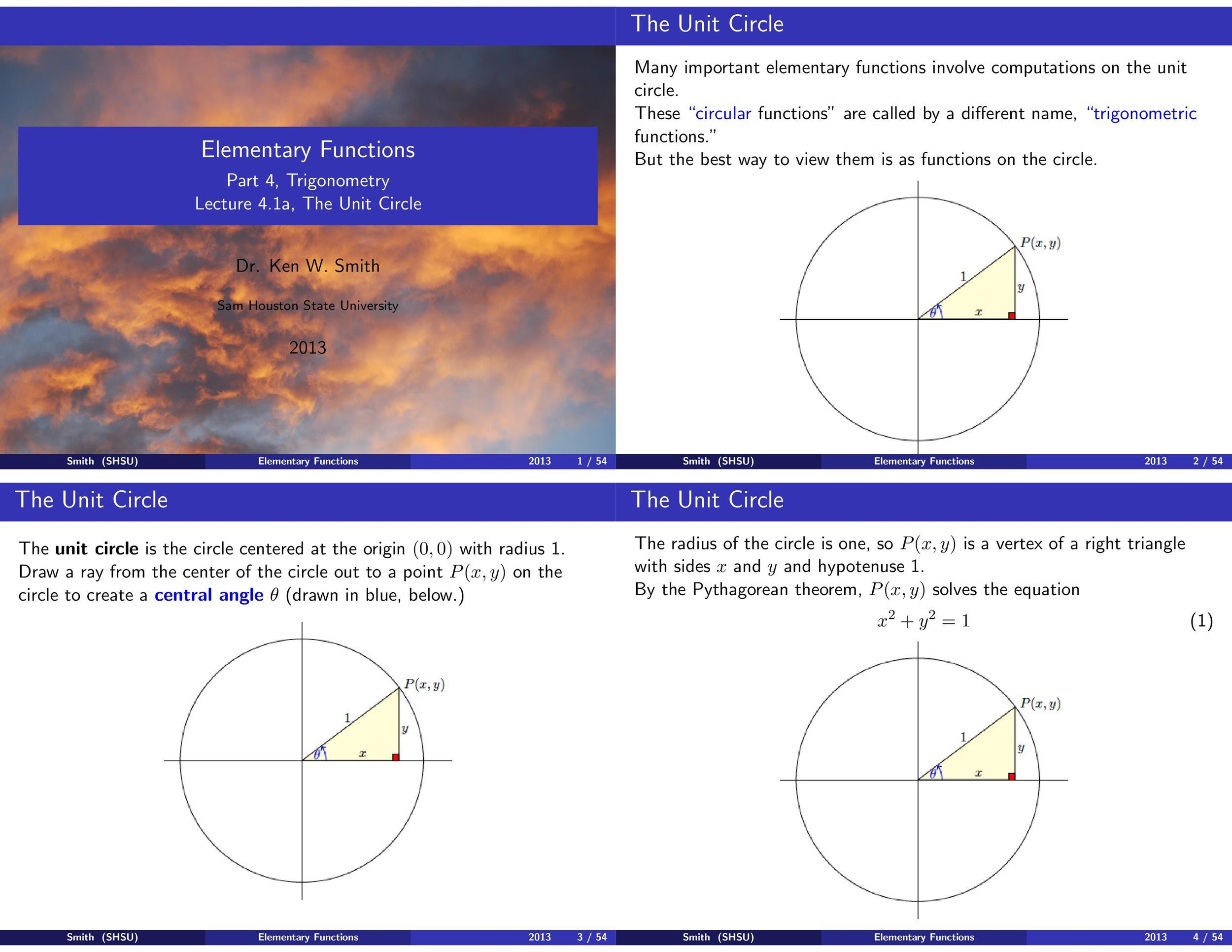 Free unit circle chart 33