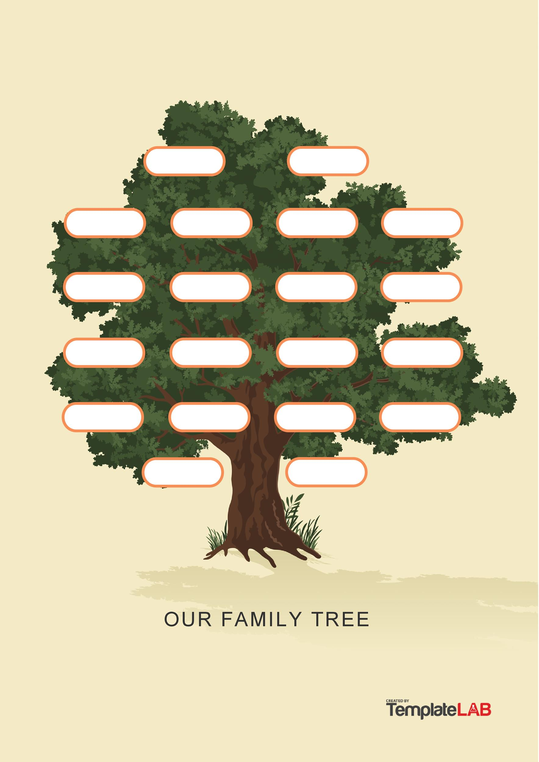 Free Family Tree Template 2