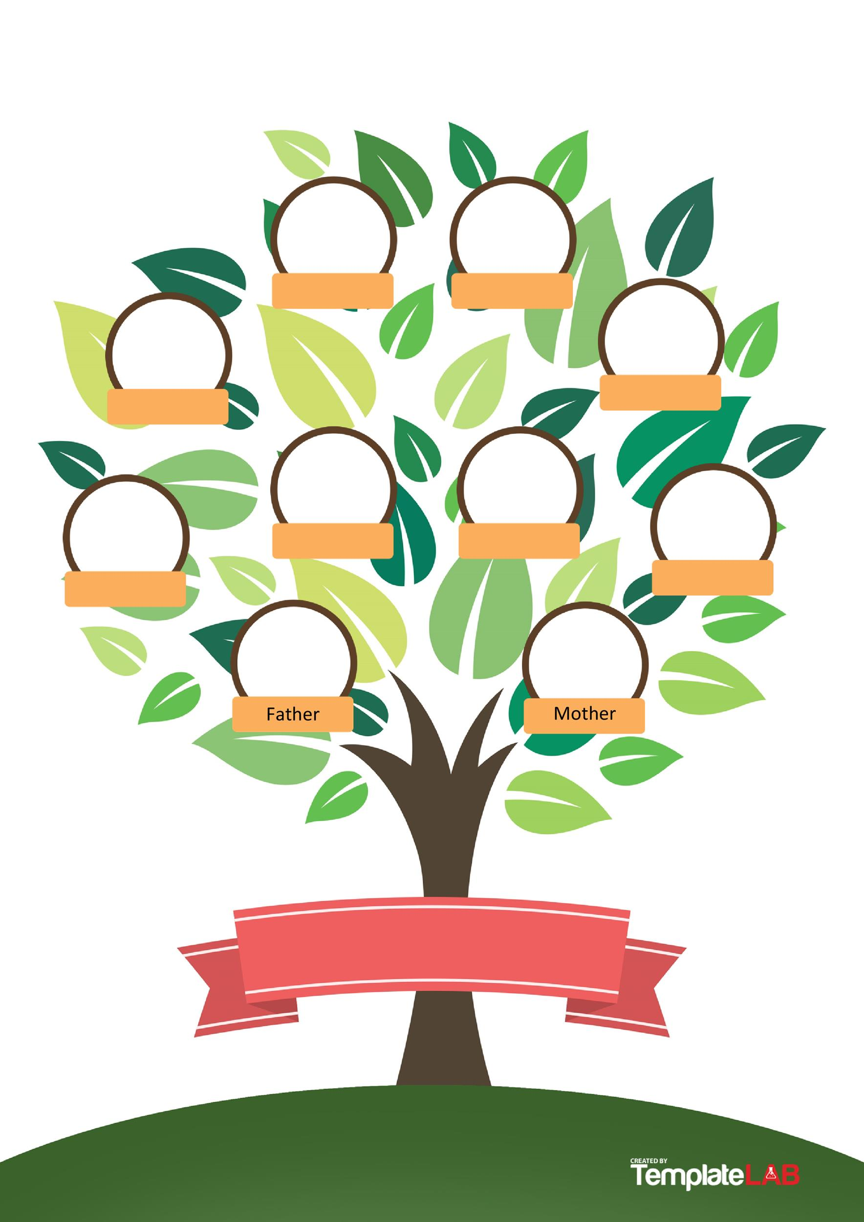 Free Family Tree Template 6