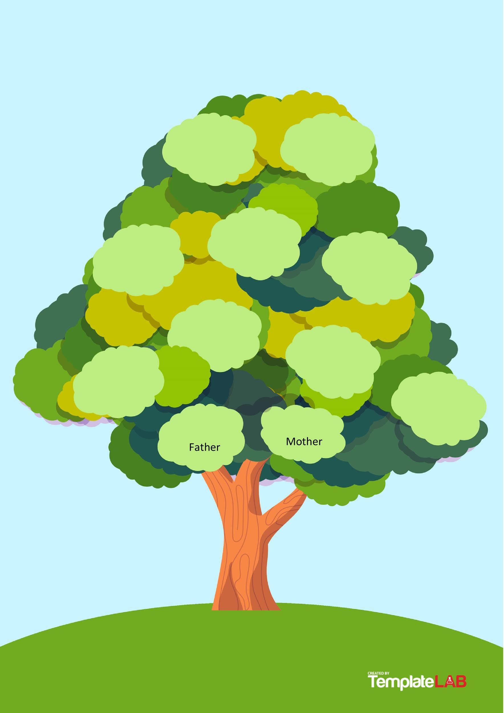 Free Family Tree Template 7