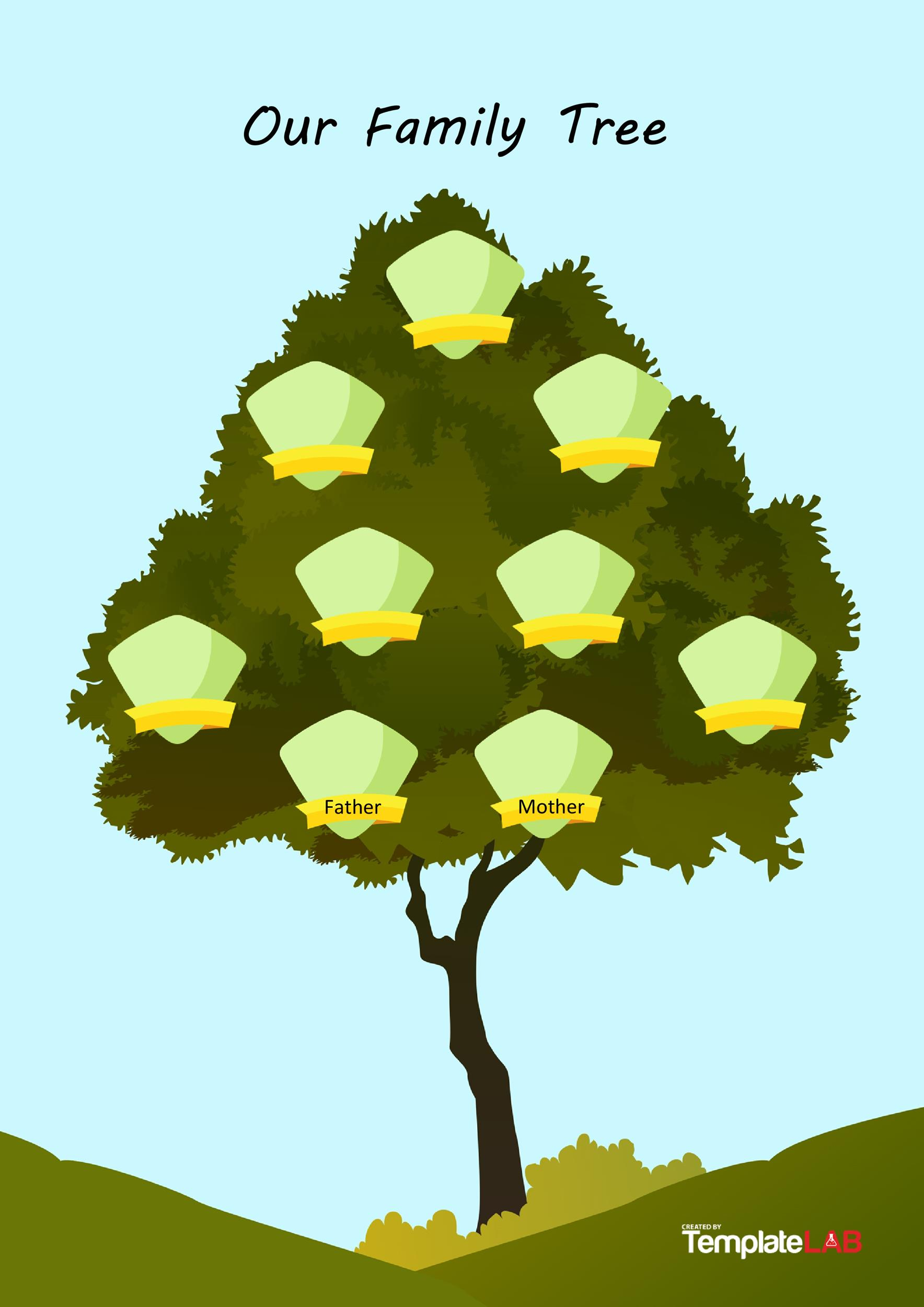 Free Family Tree Template 9