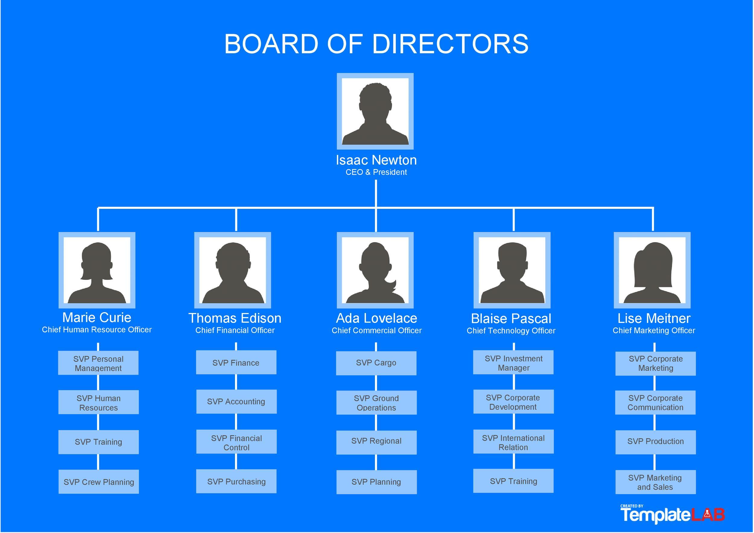 Free Free Organizational Chart 1