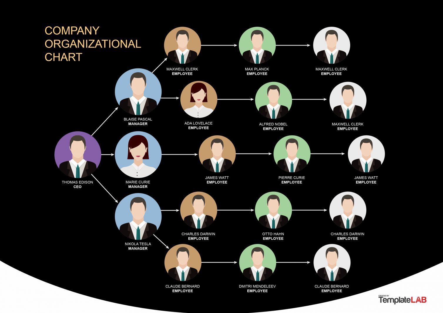 Free Organization Chart Template 9