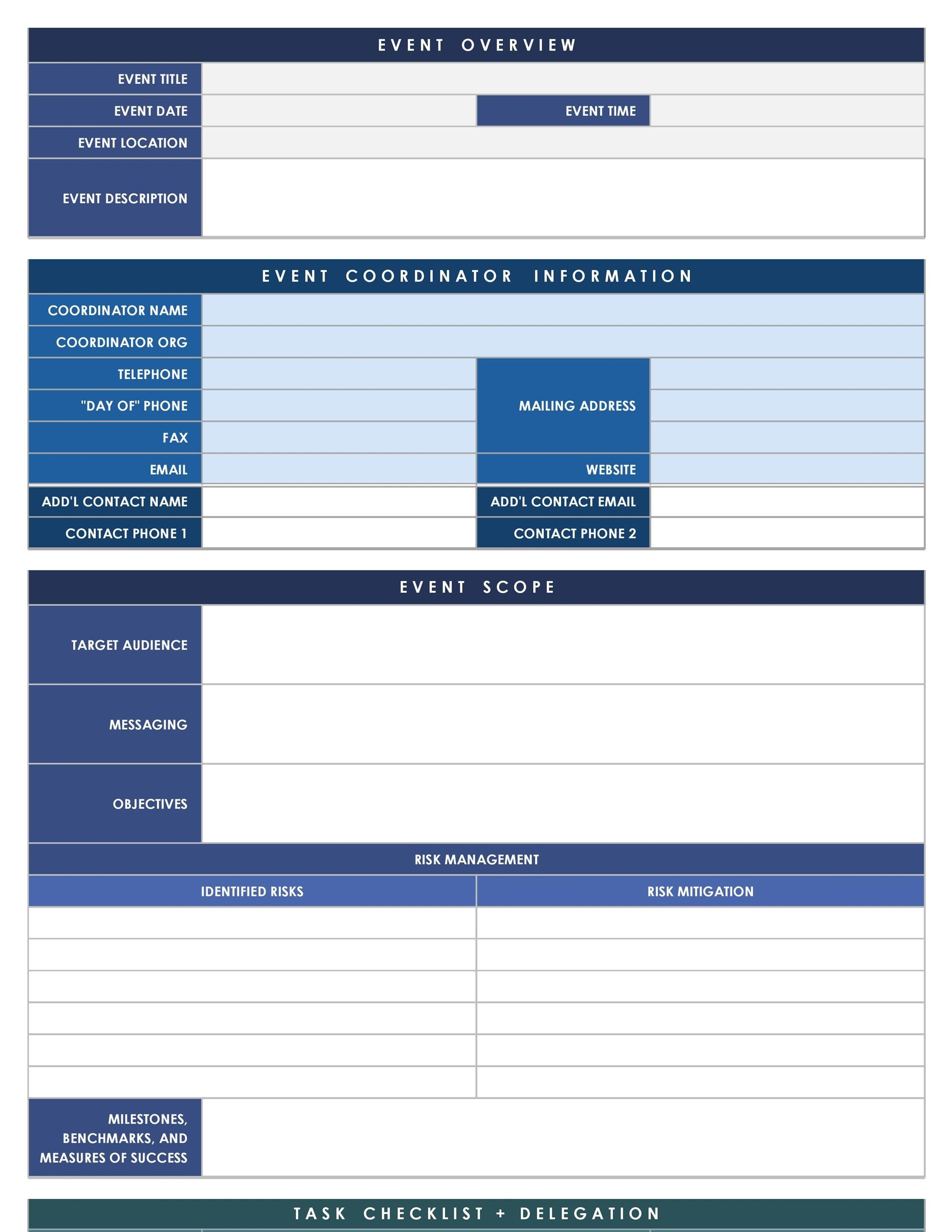 Free event proposal template 05