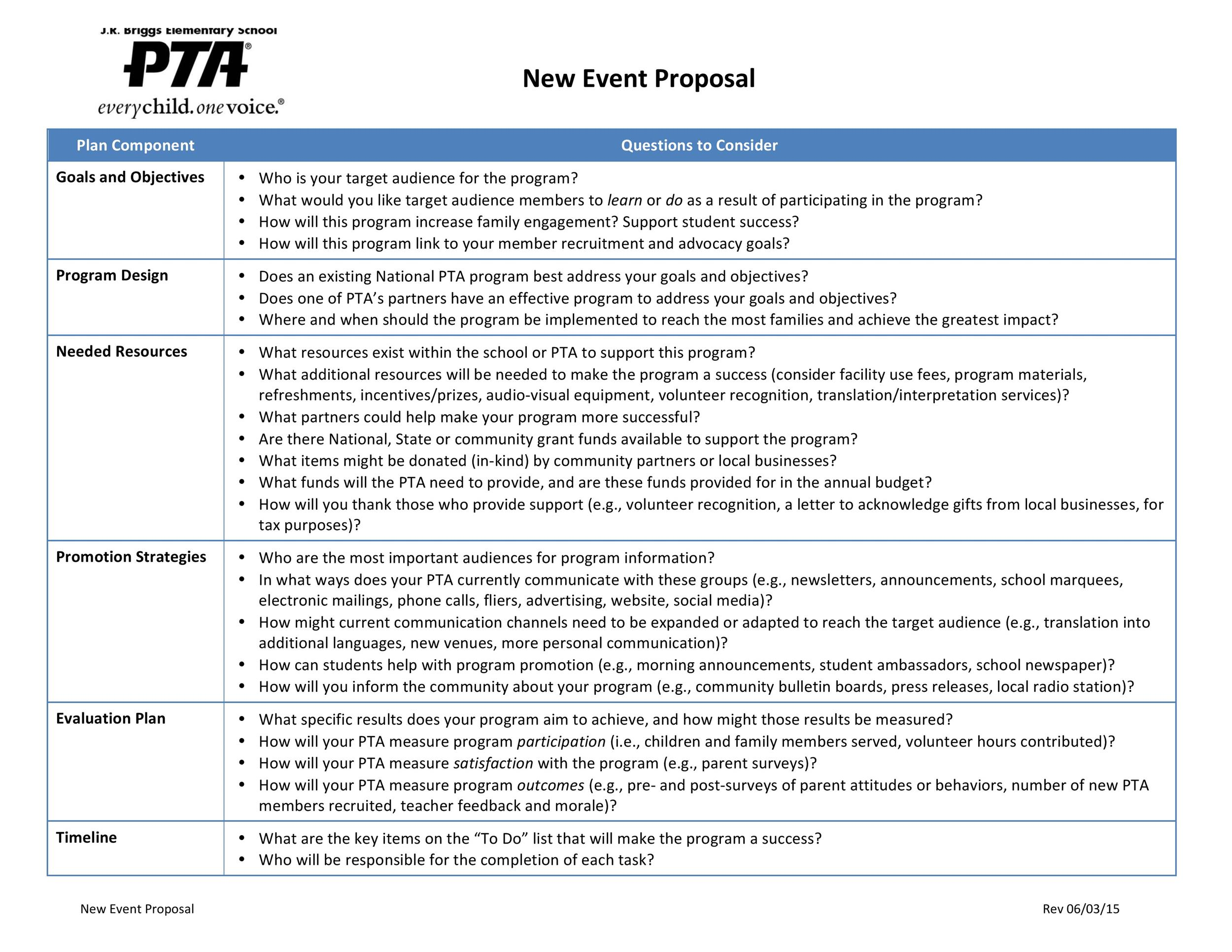 Free event proposal template 17