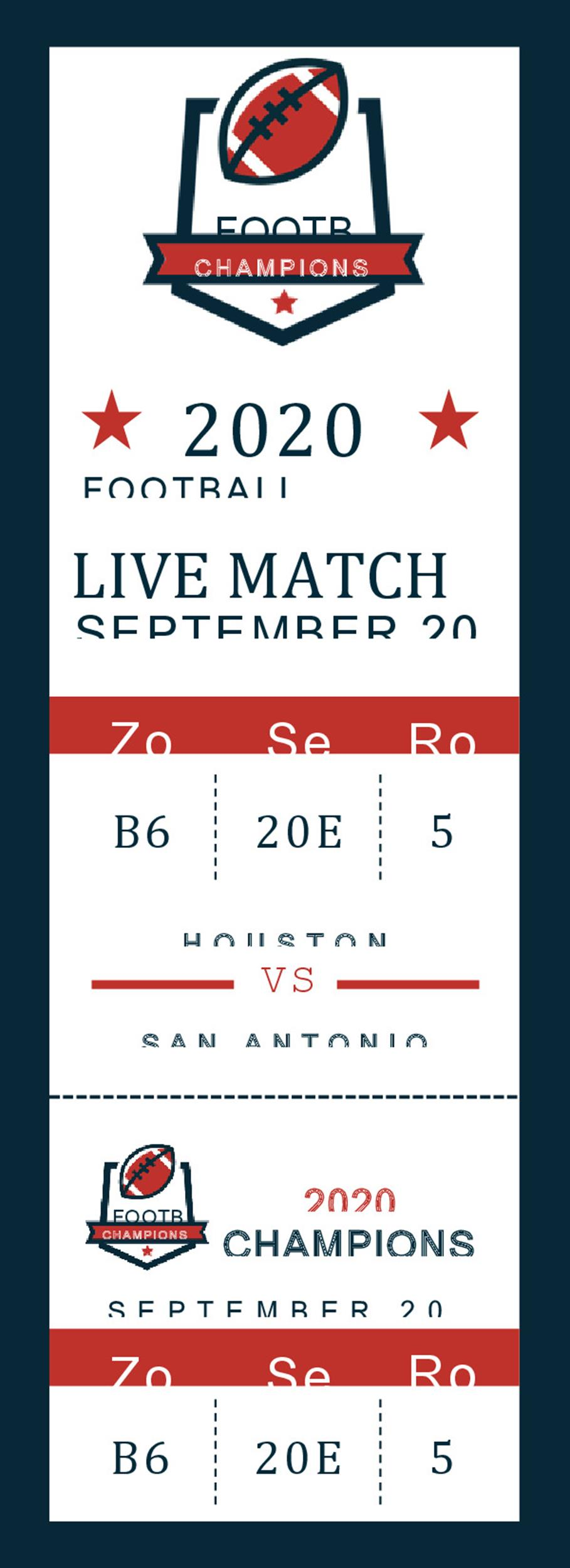 Free event ticket template 28