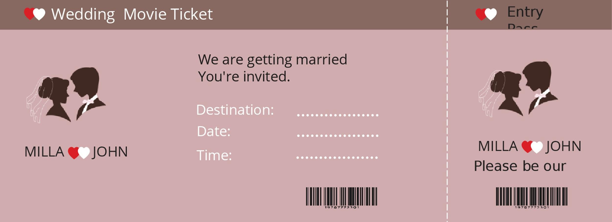 Free event ticket template 30