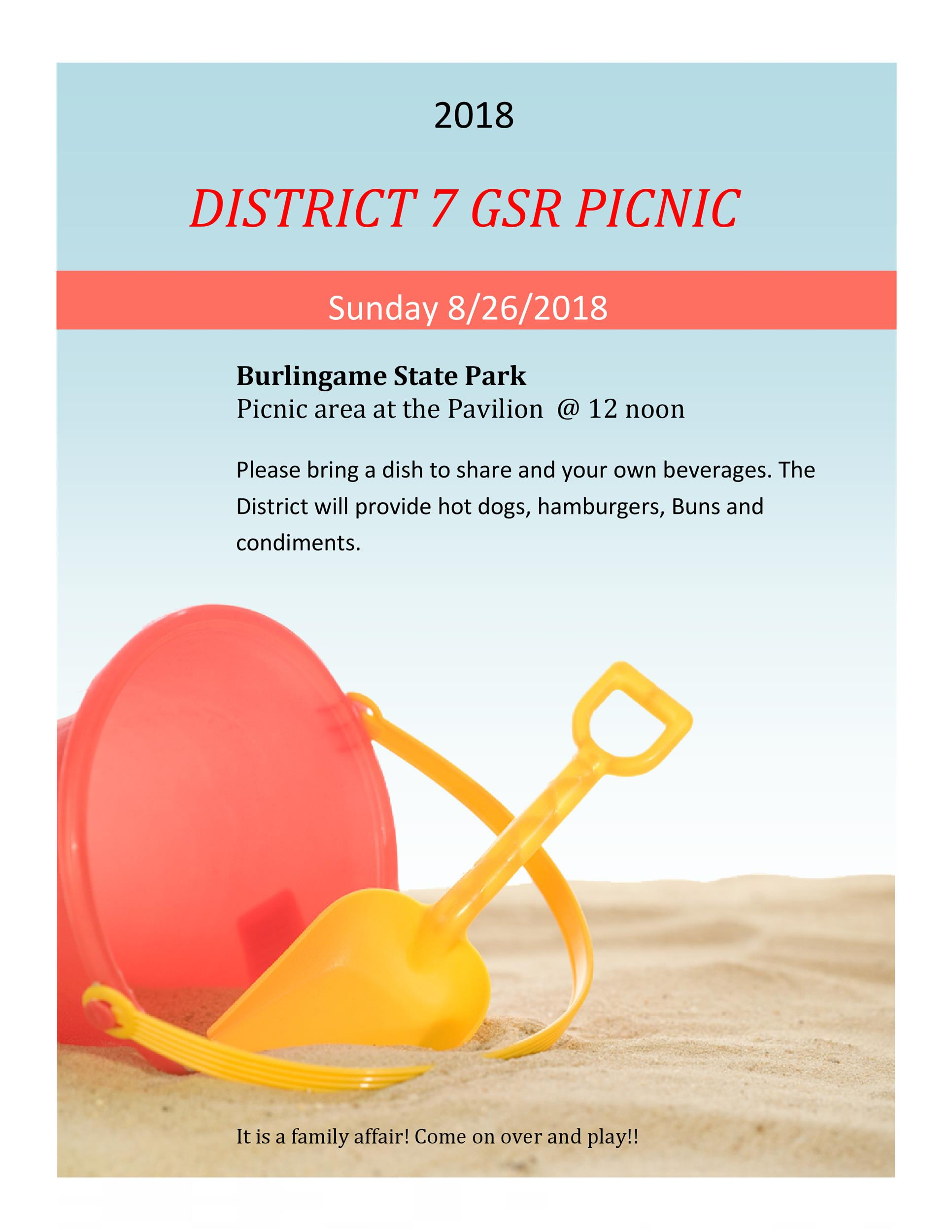 Free picnic flyer template 21