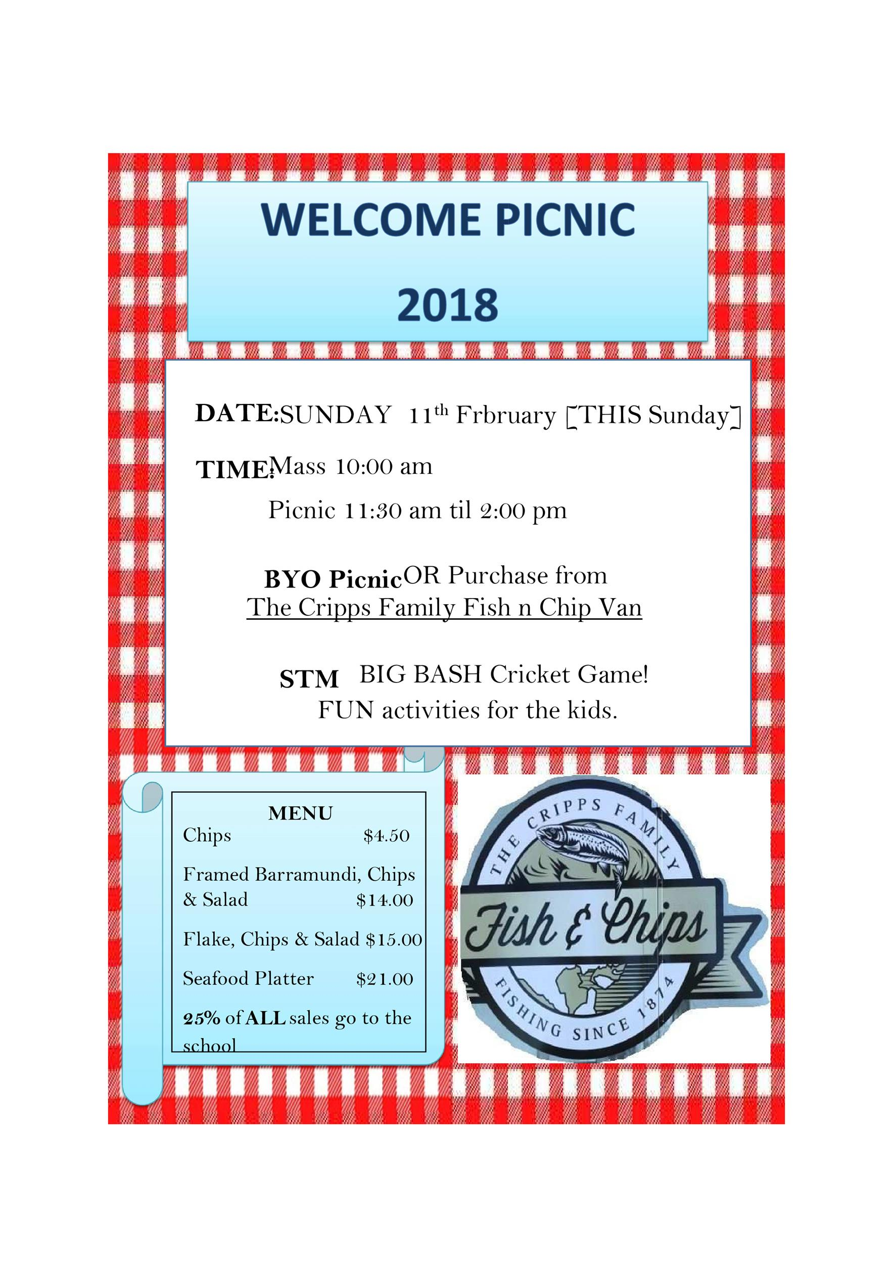 Free picnic flyer template 23