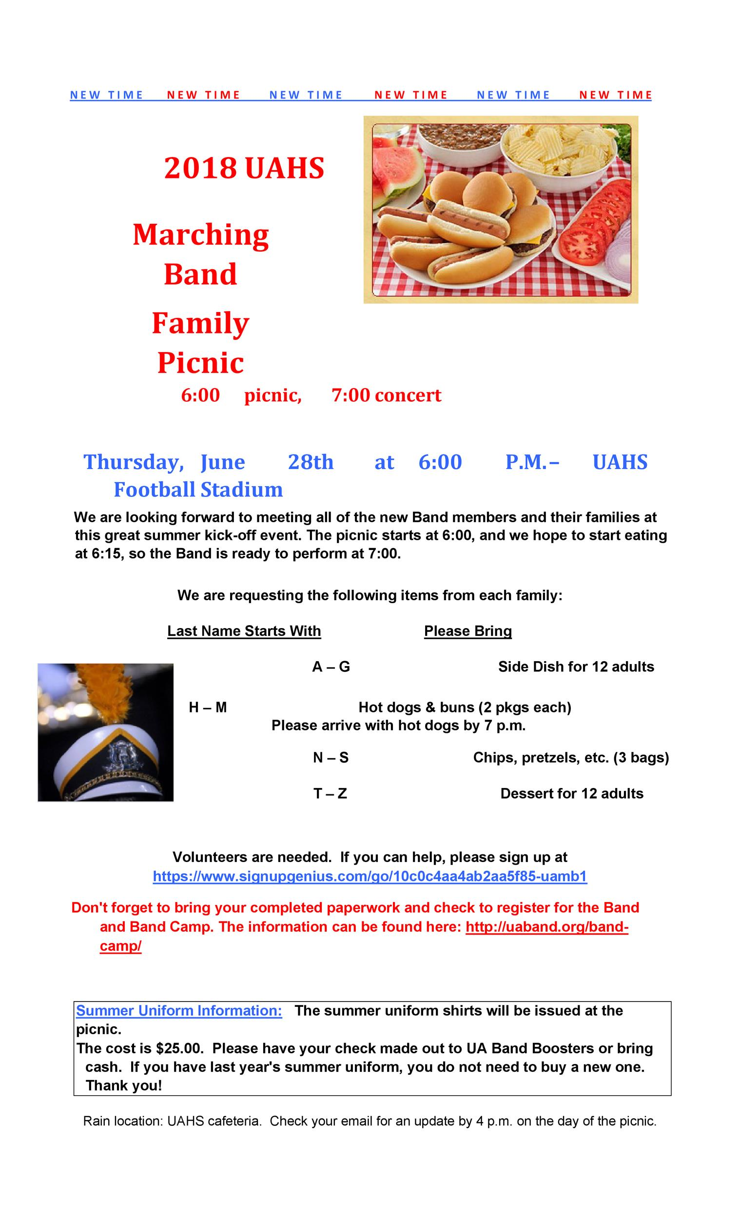 Free picnic flyer template 29
