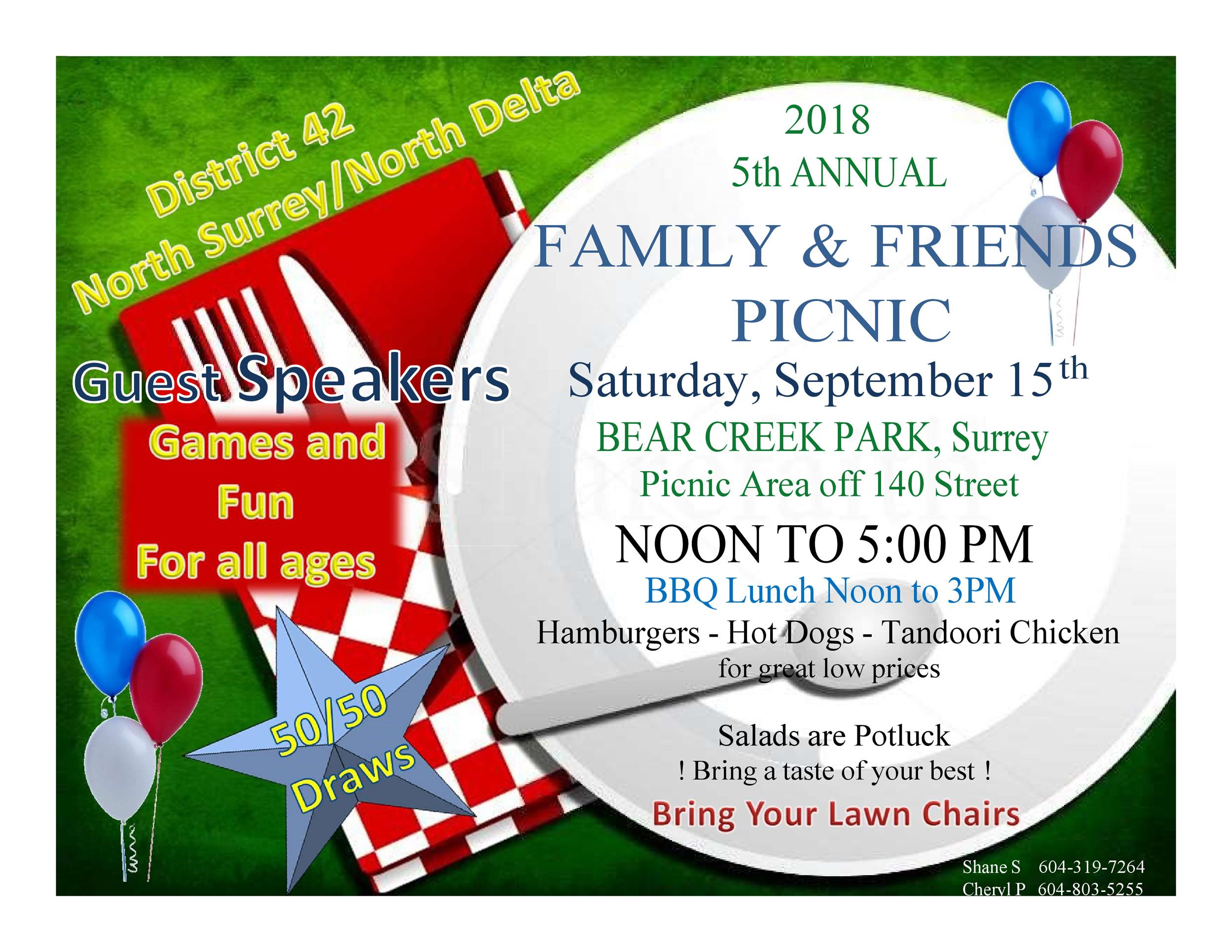 Picnic Flyer Templates