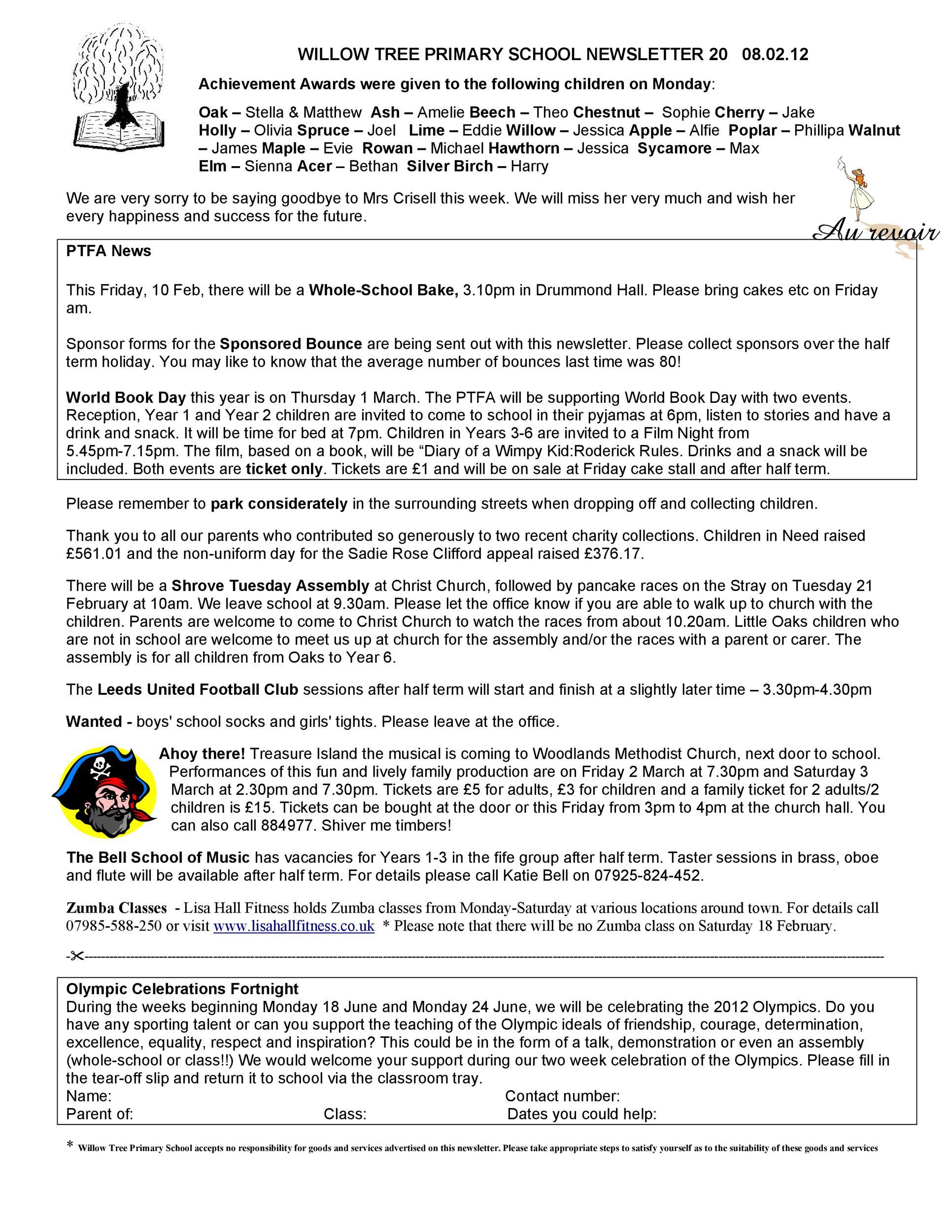 Free preschool newsletter template 49