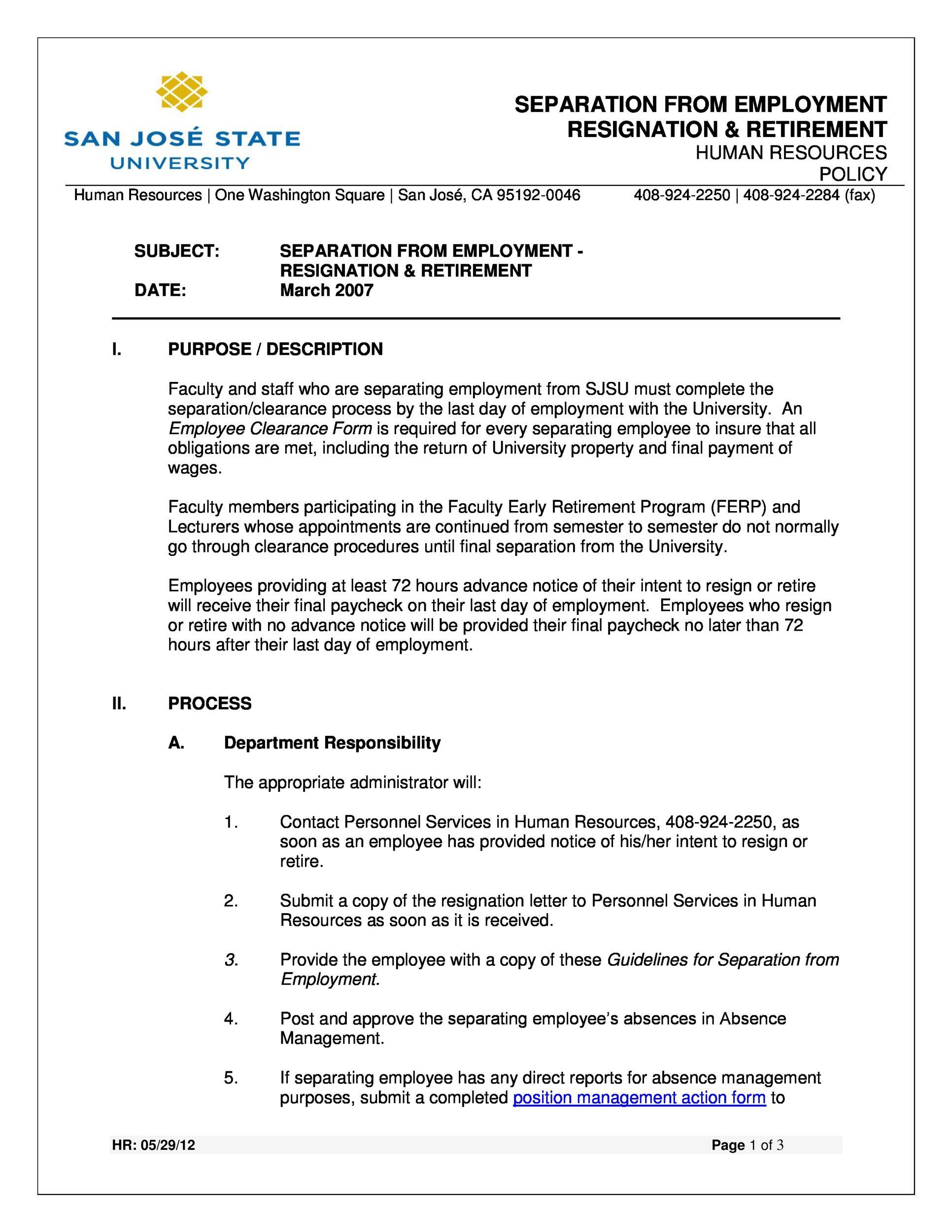 Free retirement announcement template 06