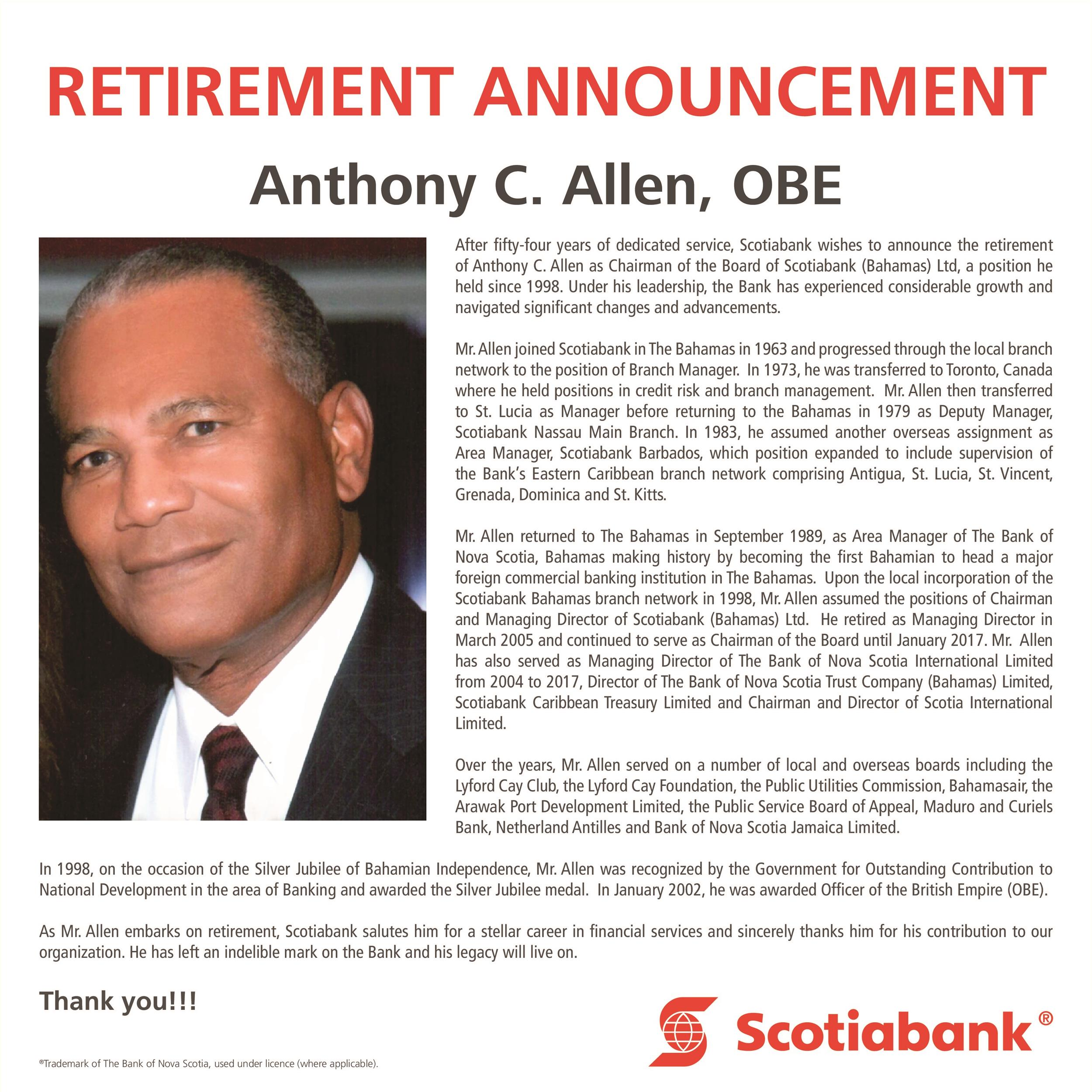 Free retirement announcement template 26
