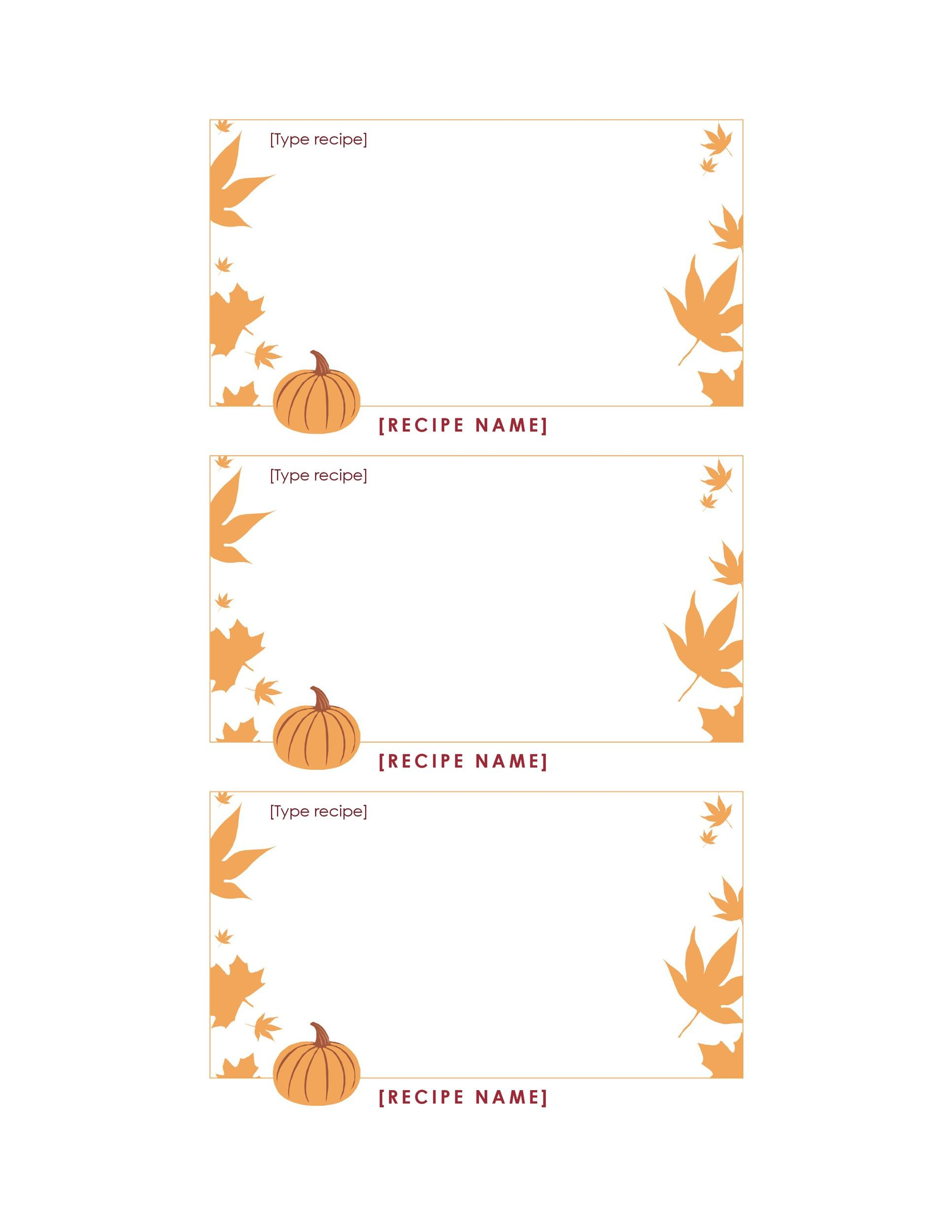 Free thanksgiving menu template 04