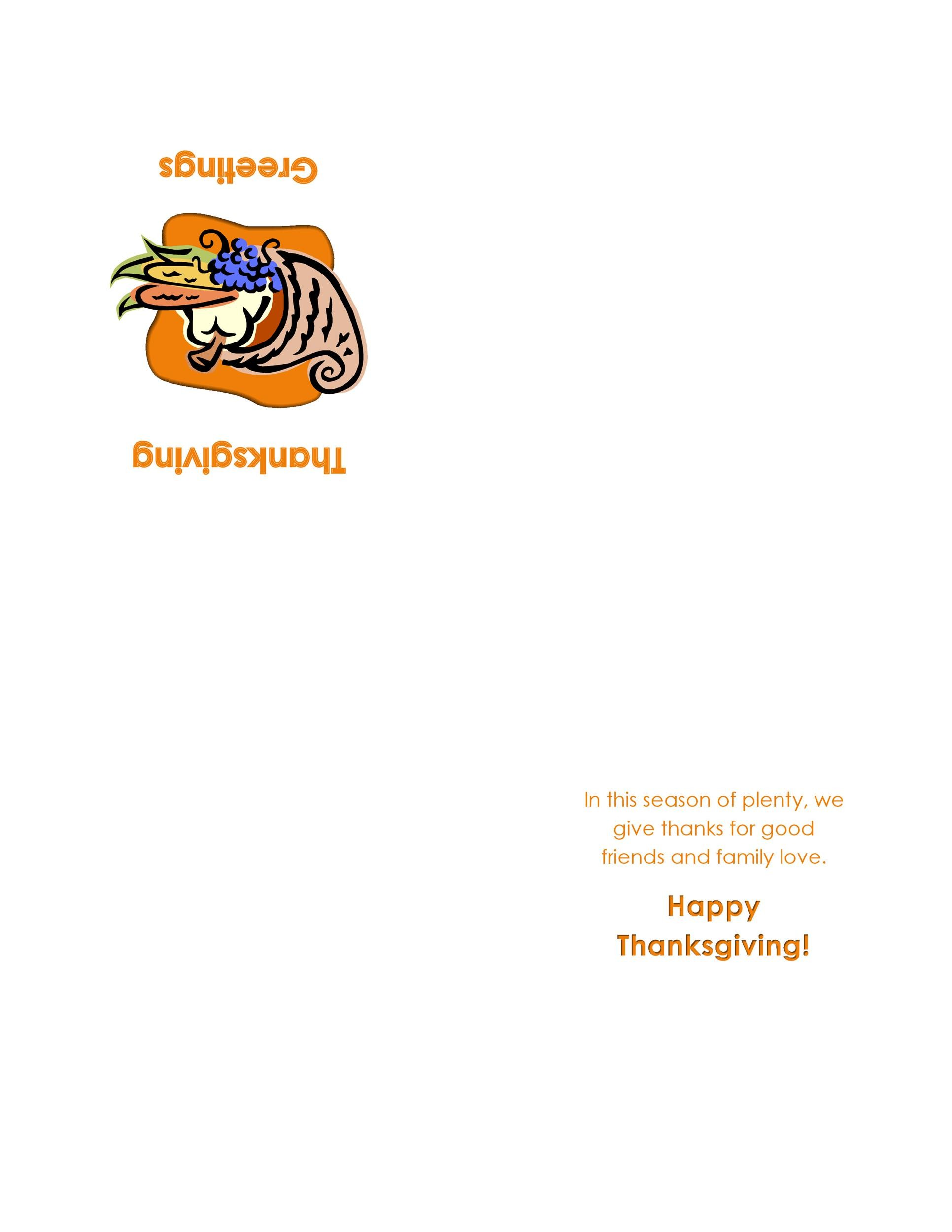 Free thanksgiving menu template 05