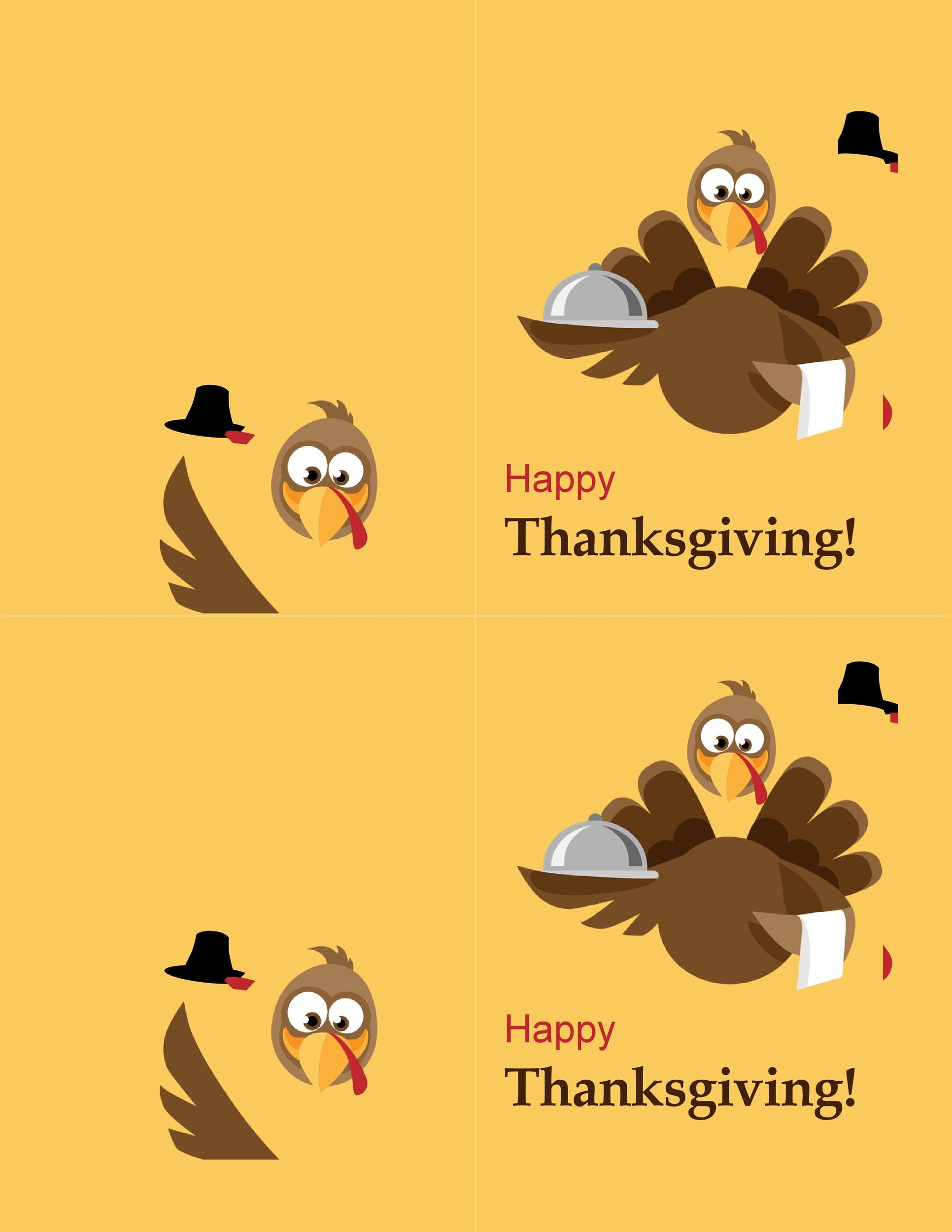 Free thanksgiving menu template 30
