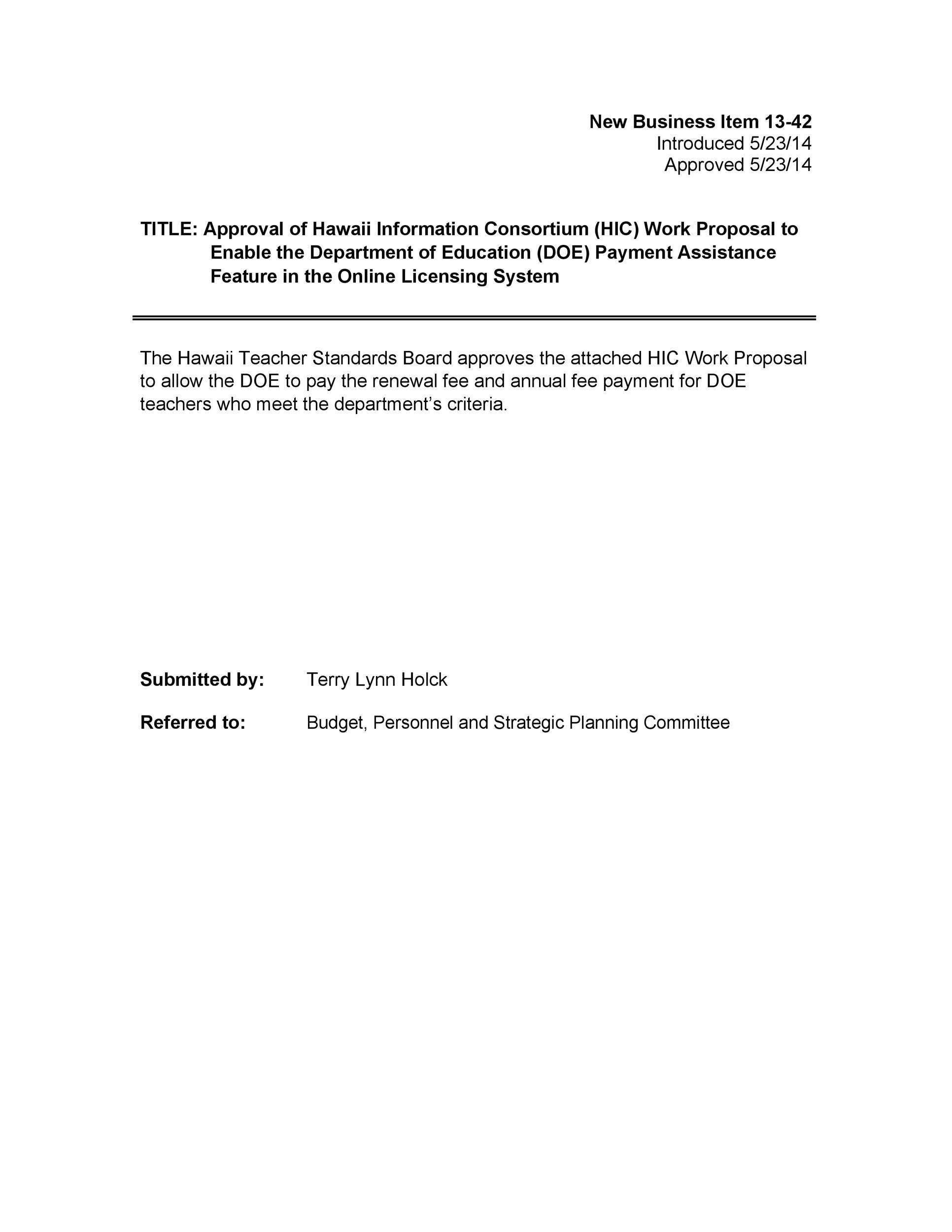 Free Job Proposal Template 38