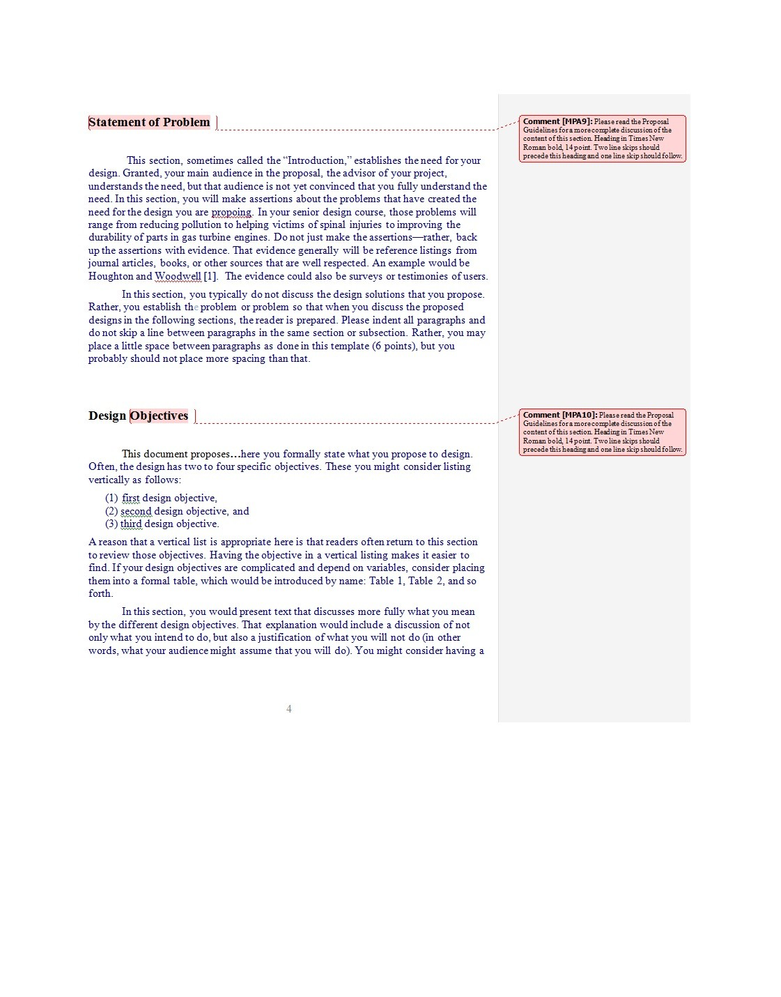 Free Problem Statement Template 32