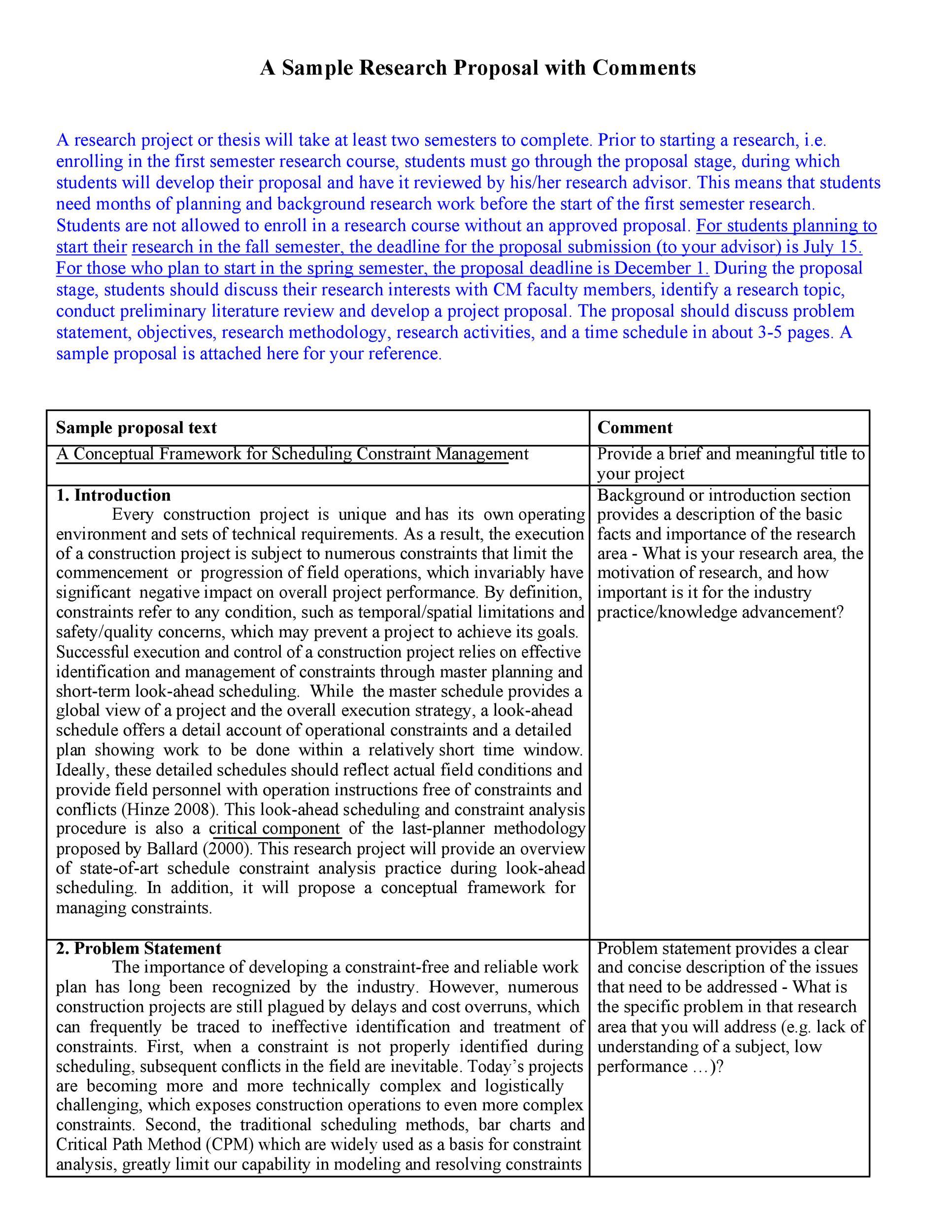 Free Problem Statement Template 38