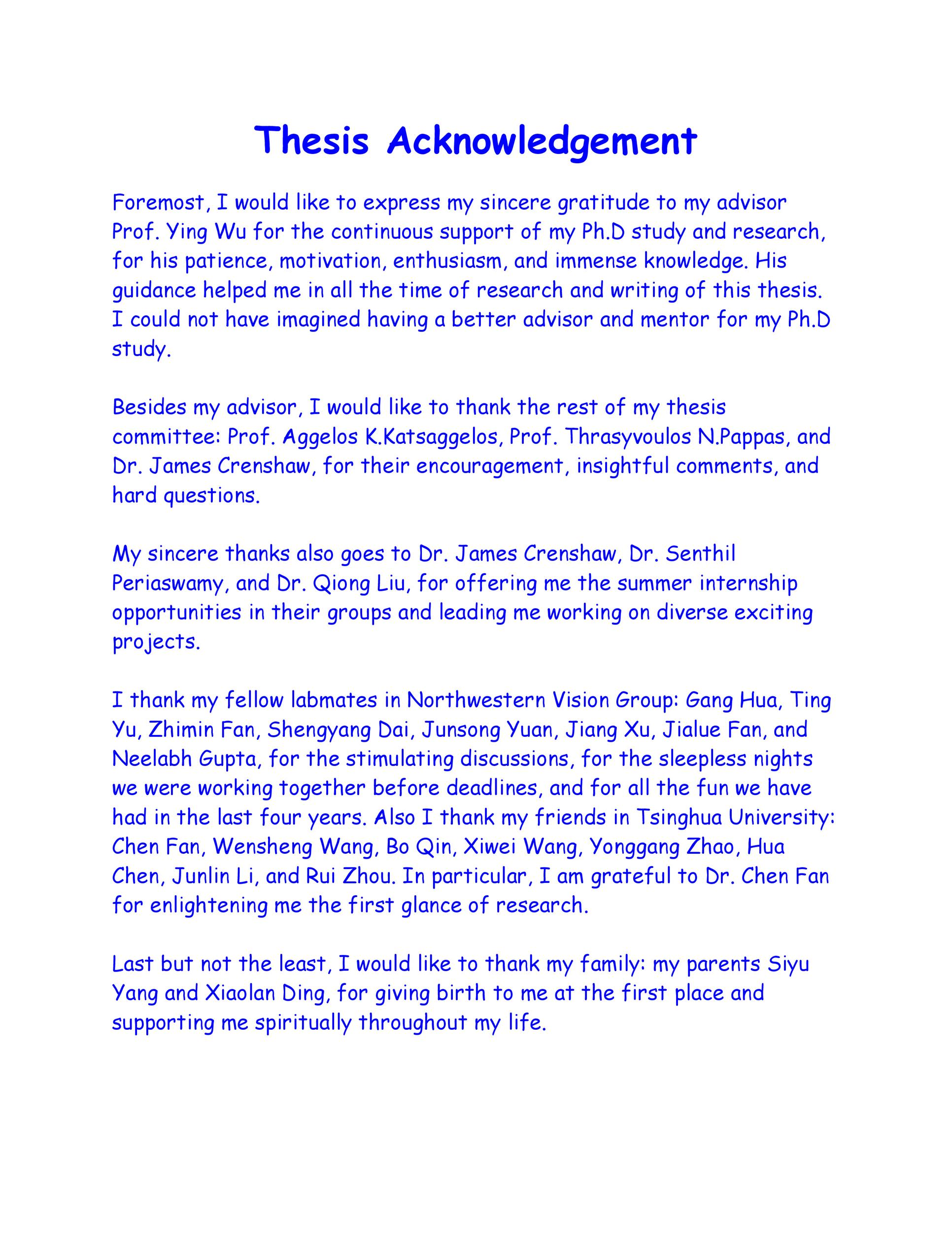 Free acknowledgement sample 04