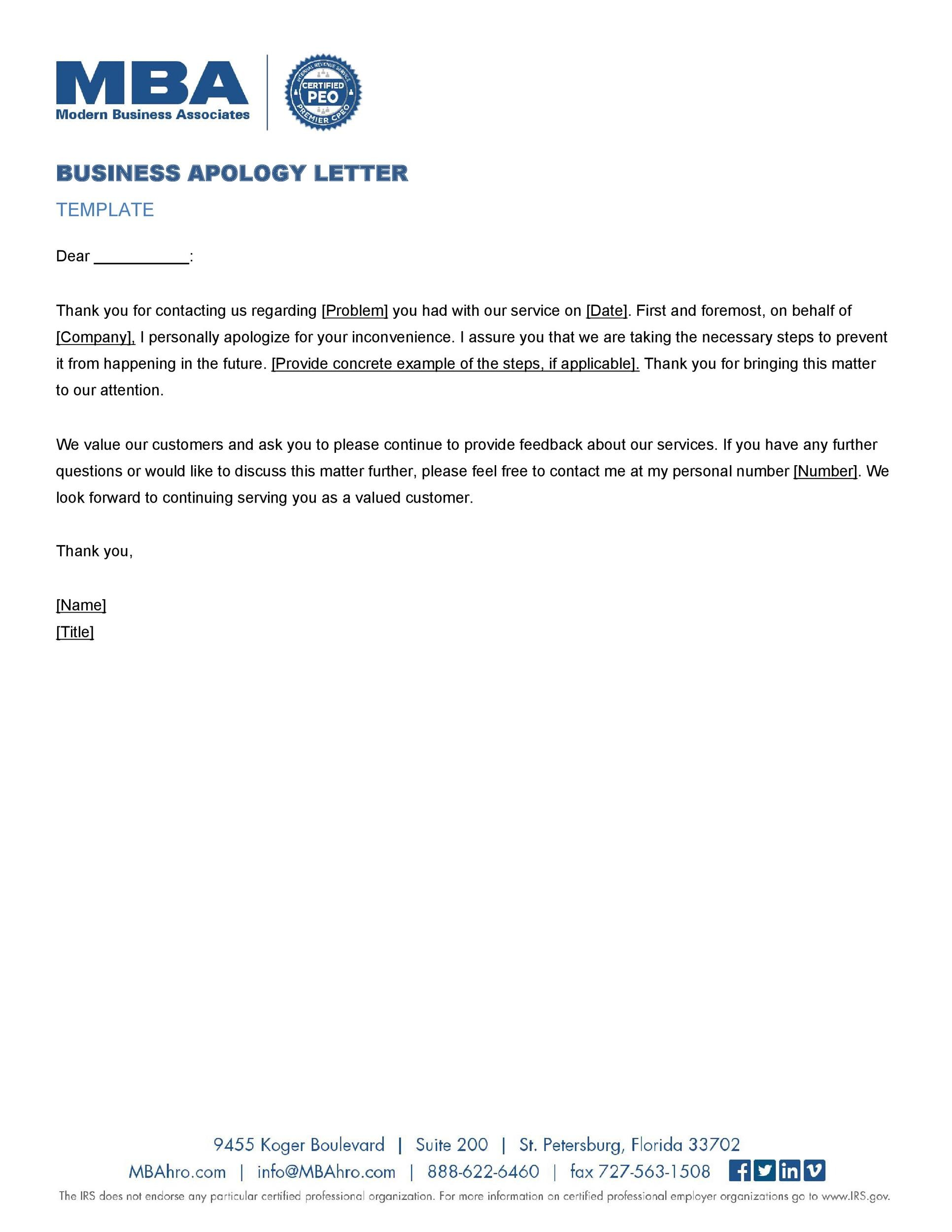 Free apology letter 06