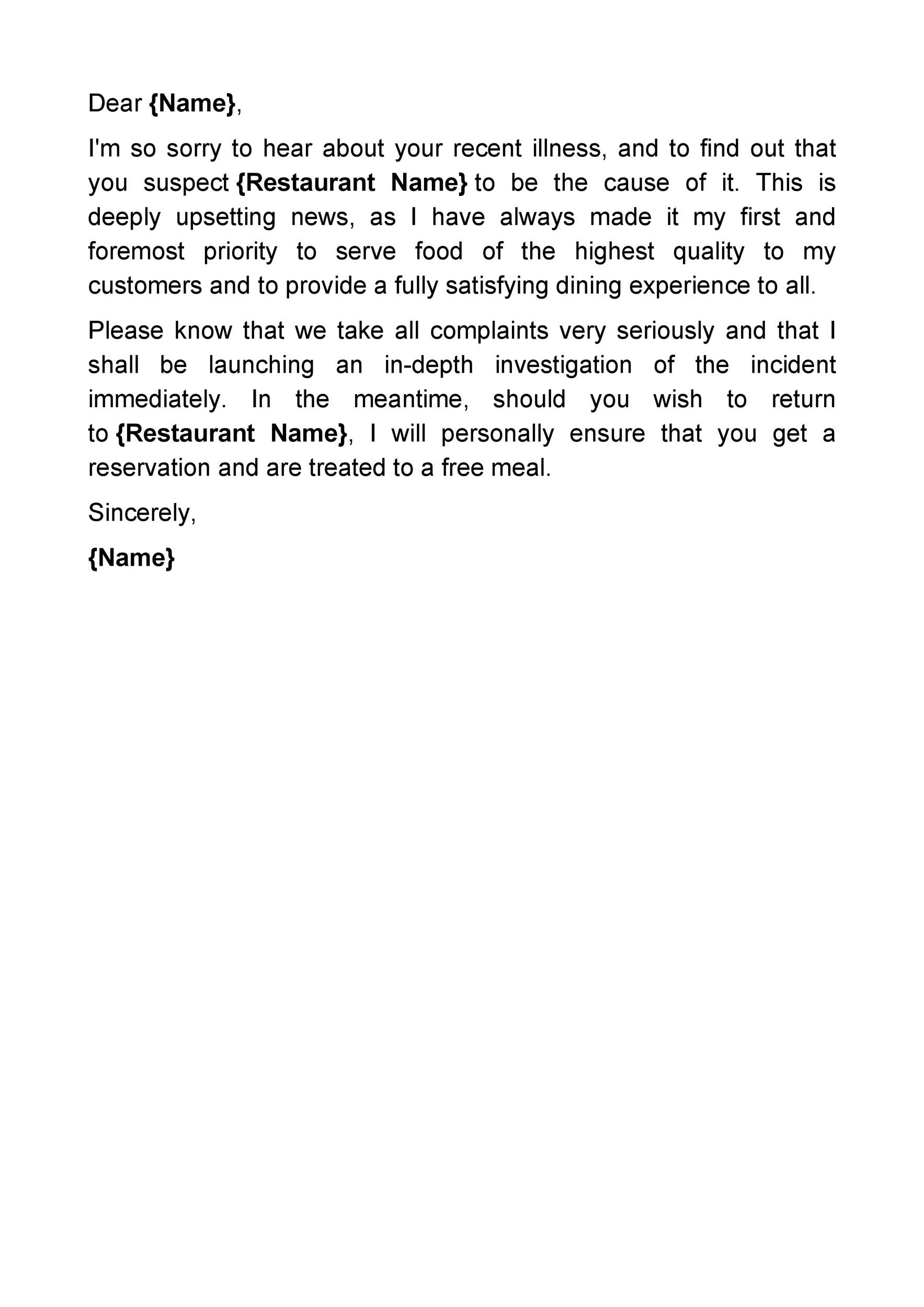 Free apology letter 13